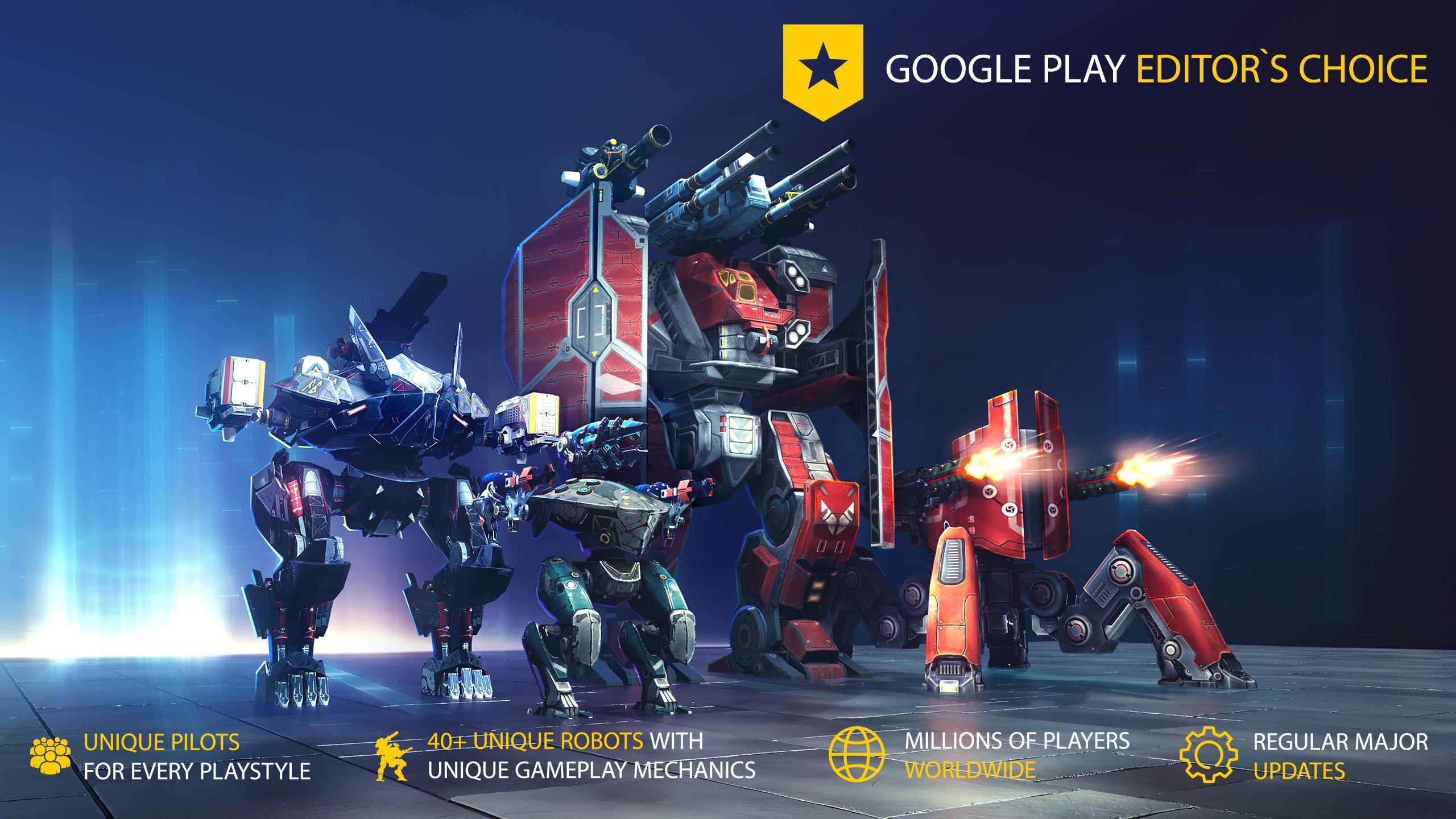 War Robots Multiplayer Battles 6.4.8 Screenshot 1