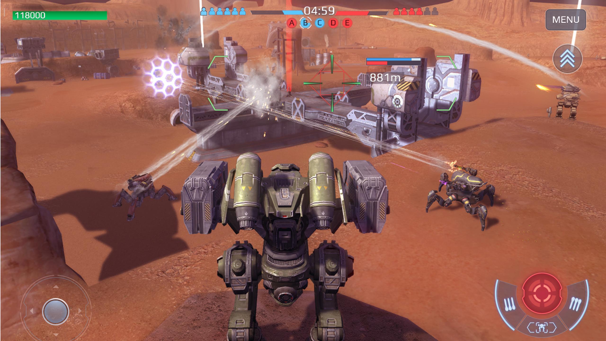 War Robots Multiplayer Battles 6.4.8 Screenshot 12