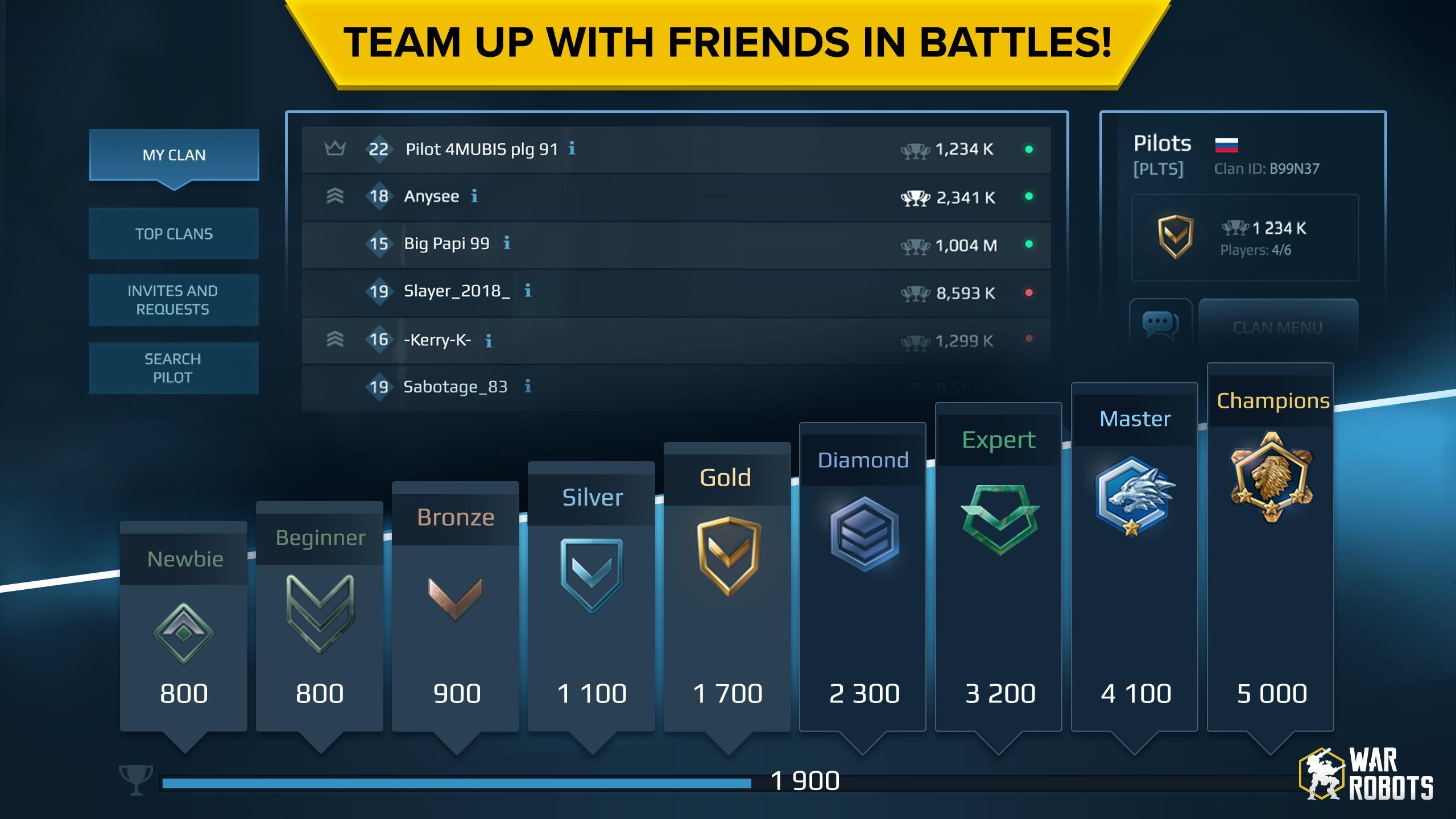 War Robots Multiplayer Battles 6.4.8 Screenshot 5