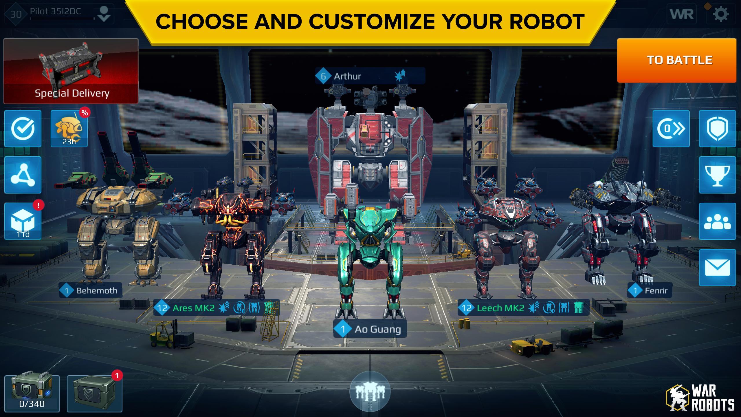 War Robots Multiplayer Battles 6.4.8 Screenshot 9