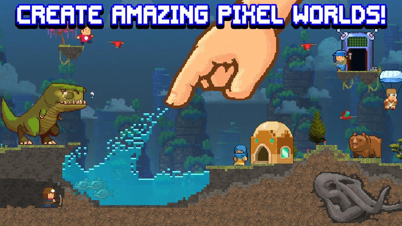 The Sandbox Evolution Craft a 2D Pixel Universe 1.7.3 Screenshot 1