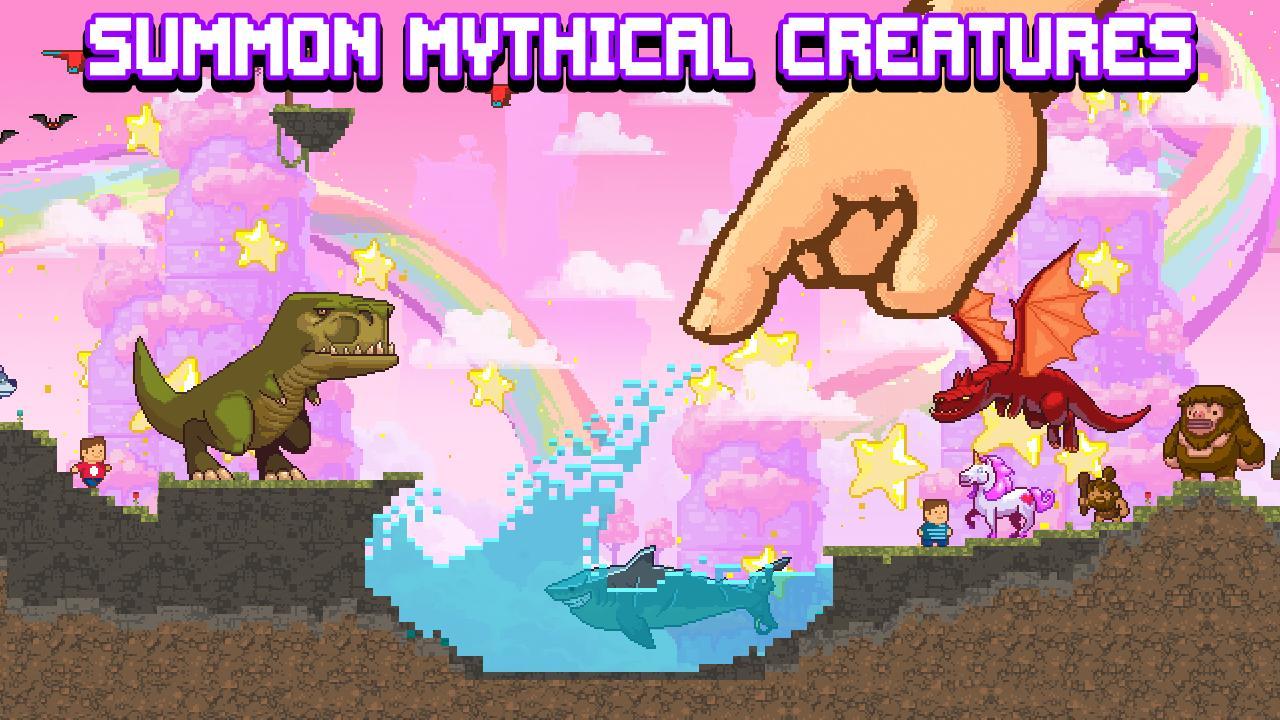 The Sandbox Evolution Craft a 2D Pixel Universe 1.7.3 Screenshot 5