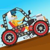 Car Builder and Racing Game for Kids app icon