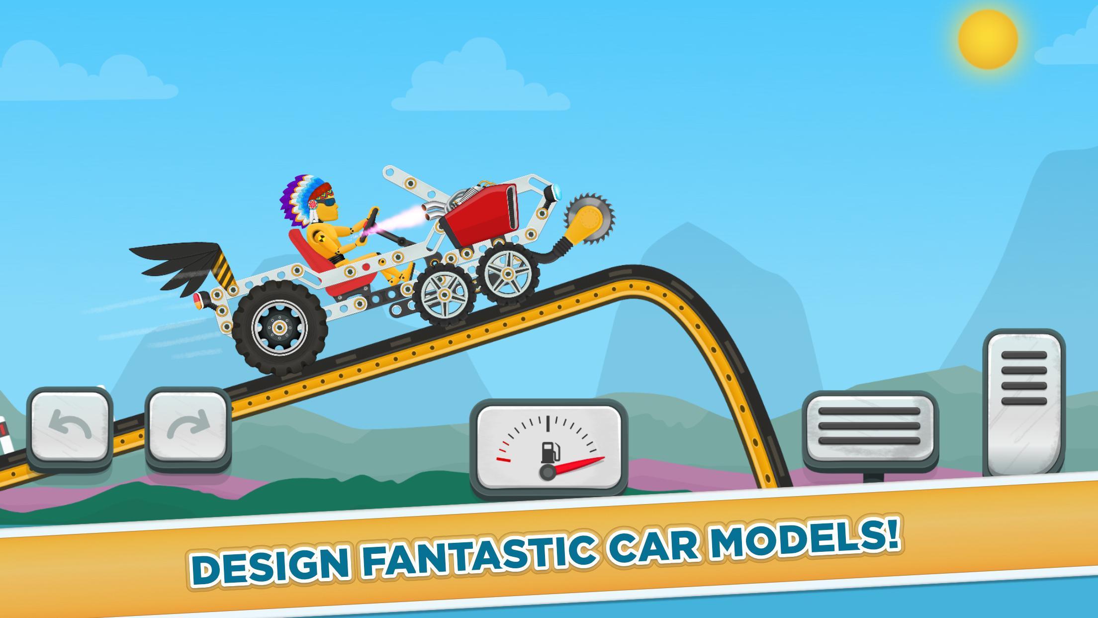 Car Builder and Racing Game for Kids 1.3 Screenshot 1