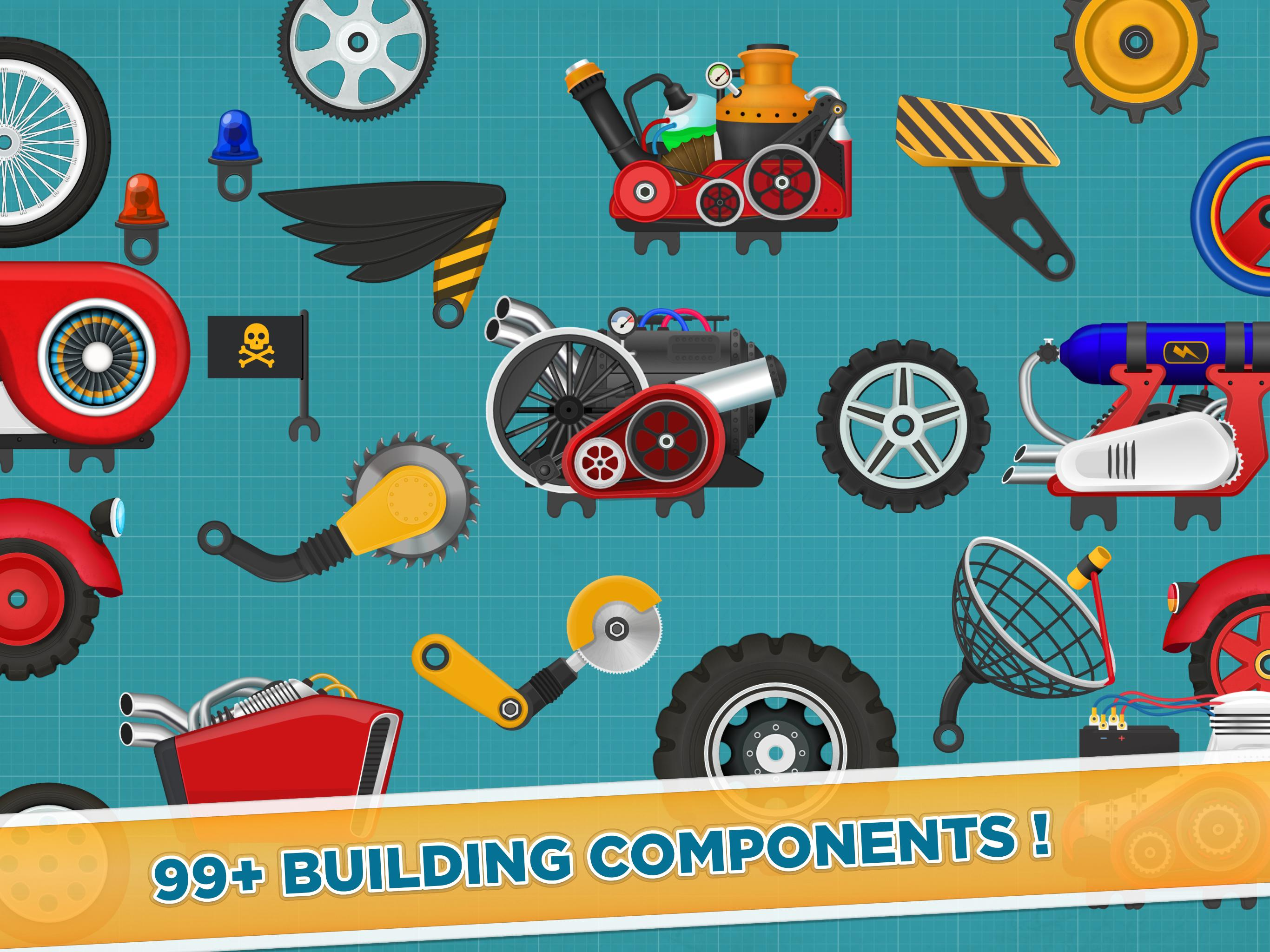 Car Builder and Racing Game for Kids 1.3 Screenshot 11