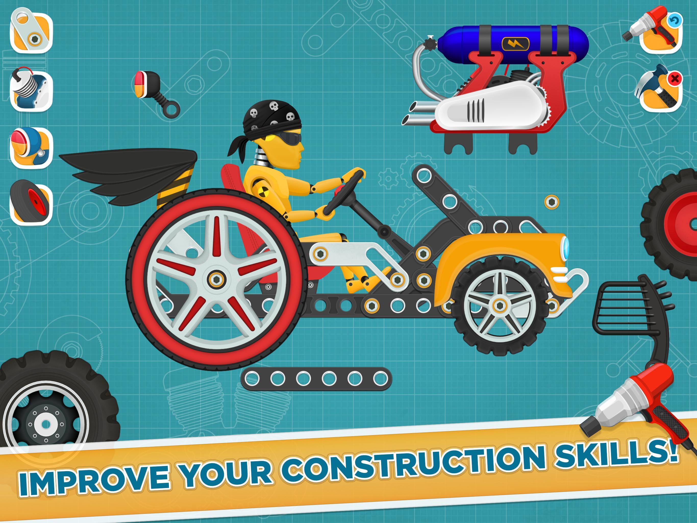 Car Builder and Racing Game for Kids 1.3 Screenshot 16