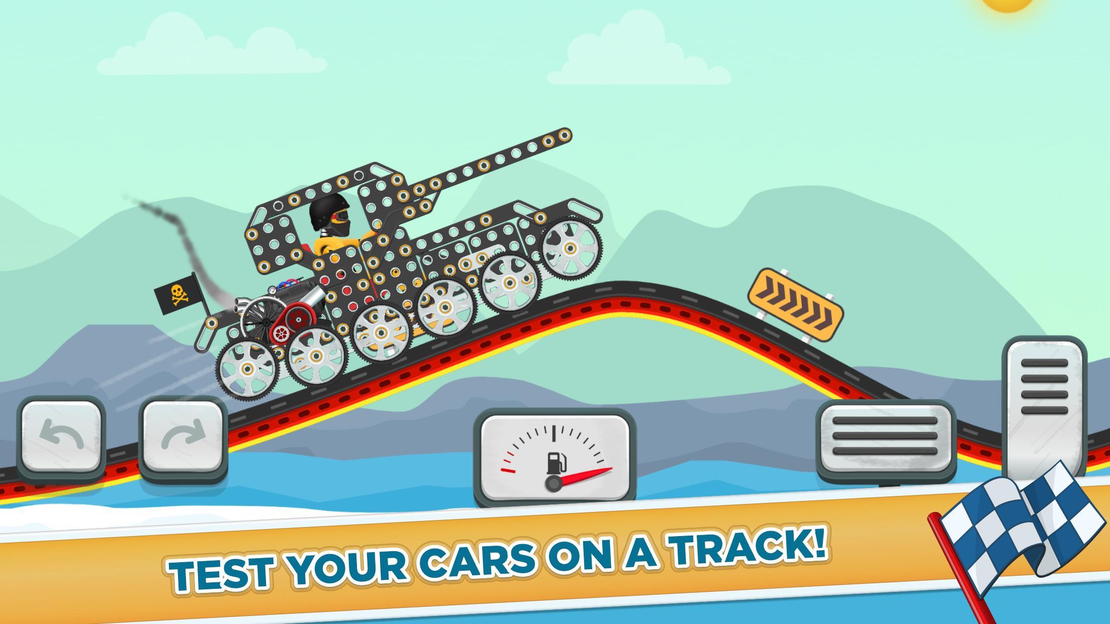 Car Builder and Racing Game for Kids 1.3 Screenshot 3