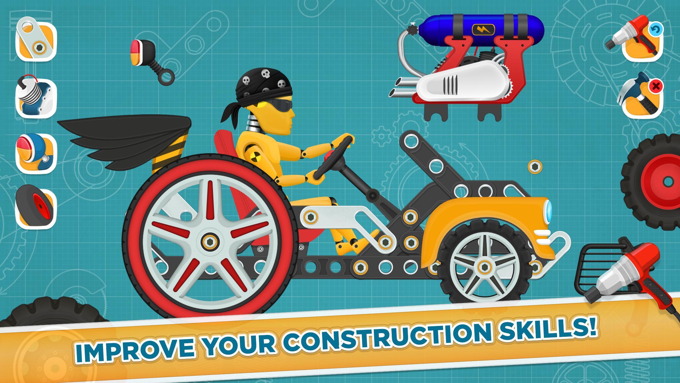 Car Builder and Racing Game for Kids 1.3 Screenshot 4