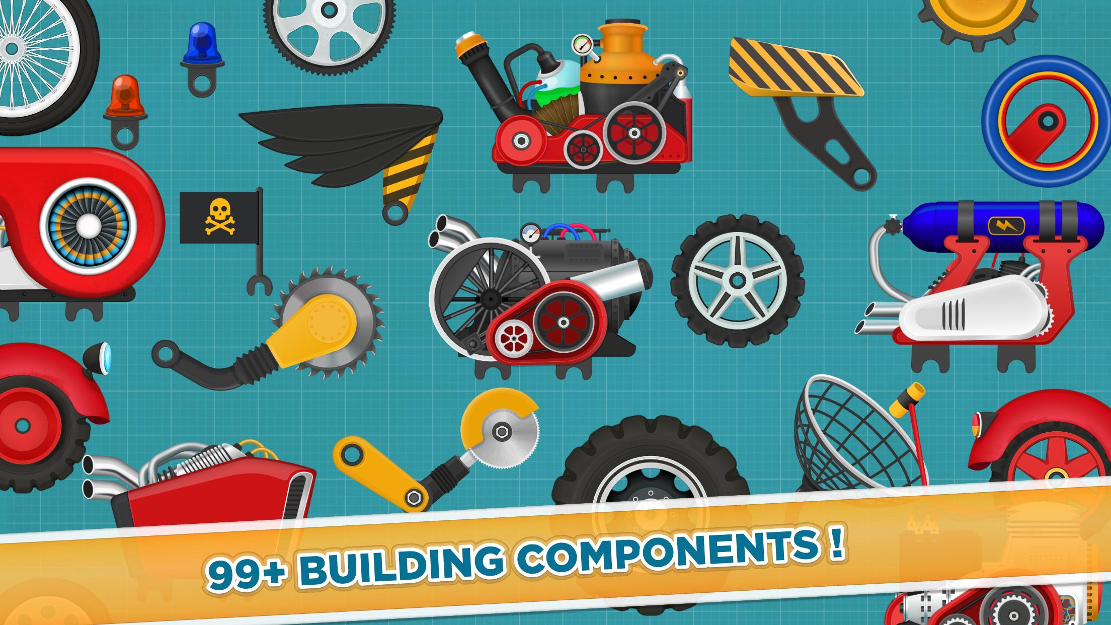 Car Builder and Racing Game for Kids 1.3 Screenshot 5