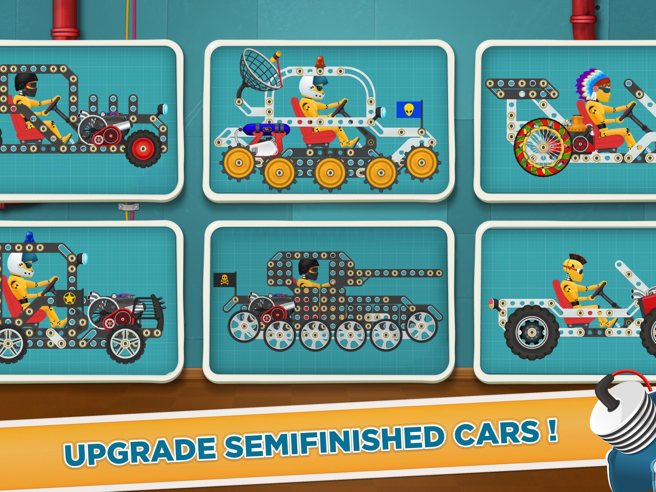 Car Builder and Racing Game for Kids 1.3 Screenshot 8