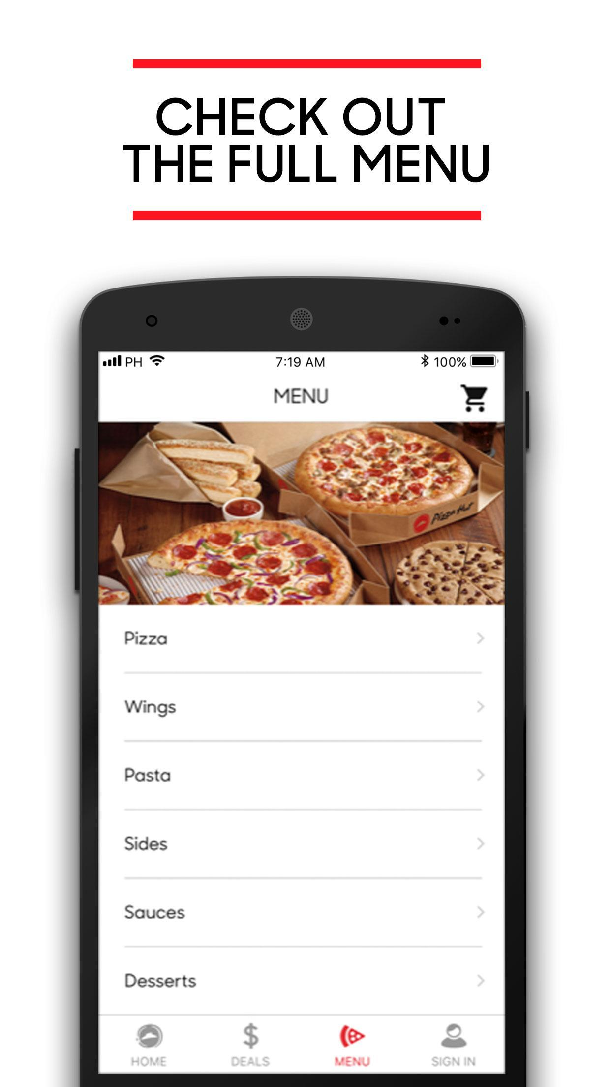 Pizza Hut 5.4.5 Screenshot 4