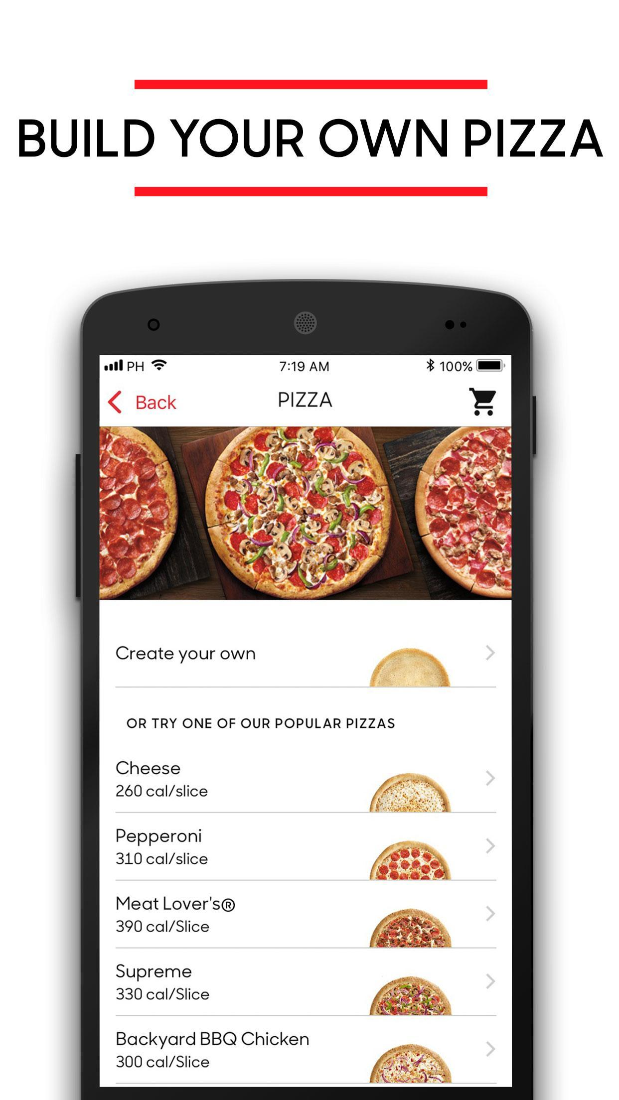 Pizza Hut 5.4.5 Screenshot 5