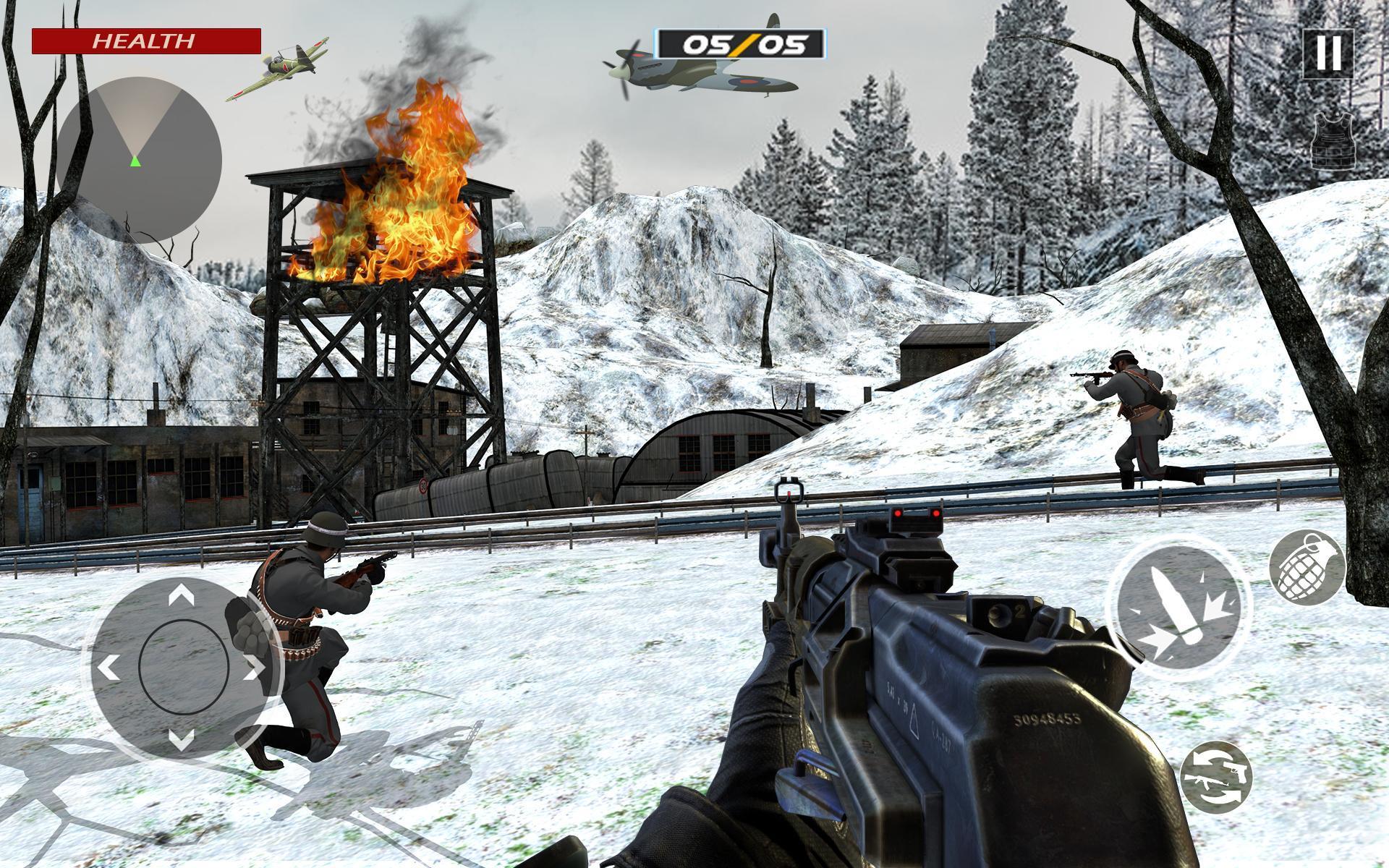 American World War Fps Shooter Free Shooting Games 4.8 Screenshot 15