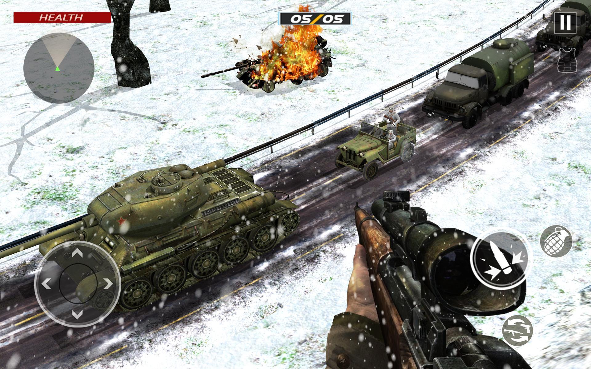 American World War Fps Shooter Free Shooting Games 4.8 Screenshot 16