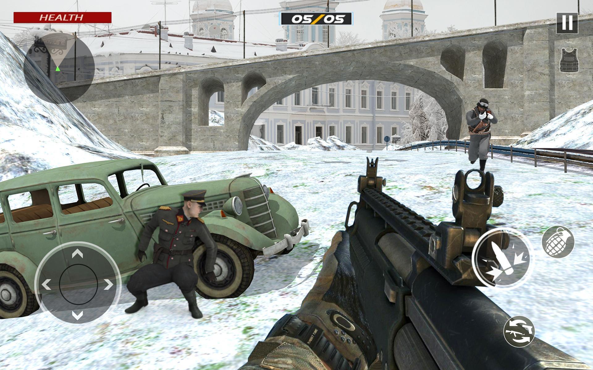 American World War Fps Shooter Free Shooting Games 4.8 Screenshot 6
