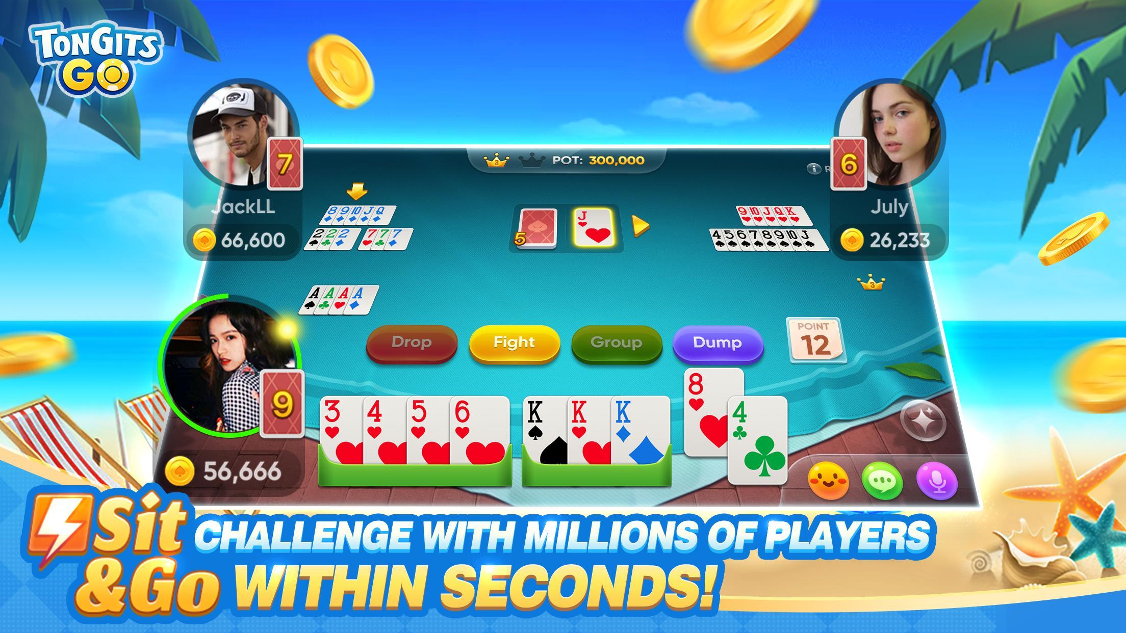 Tongits Go The Best Card Game Online 2.9.16 Screenshot 3