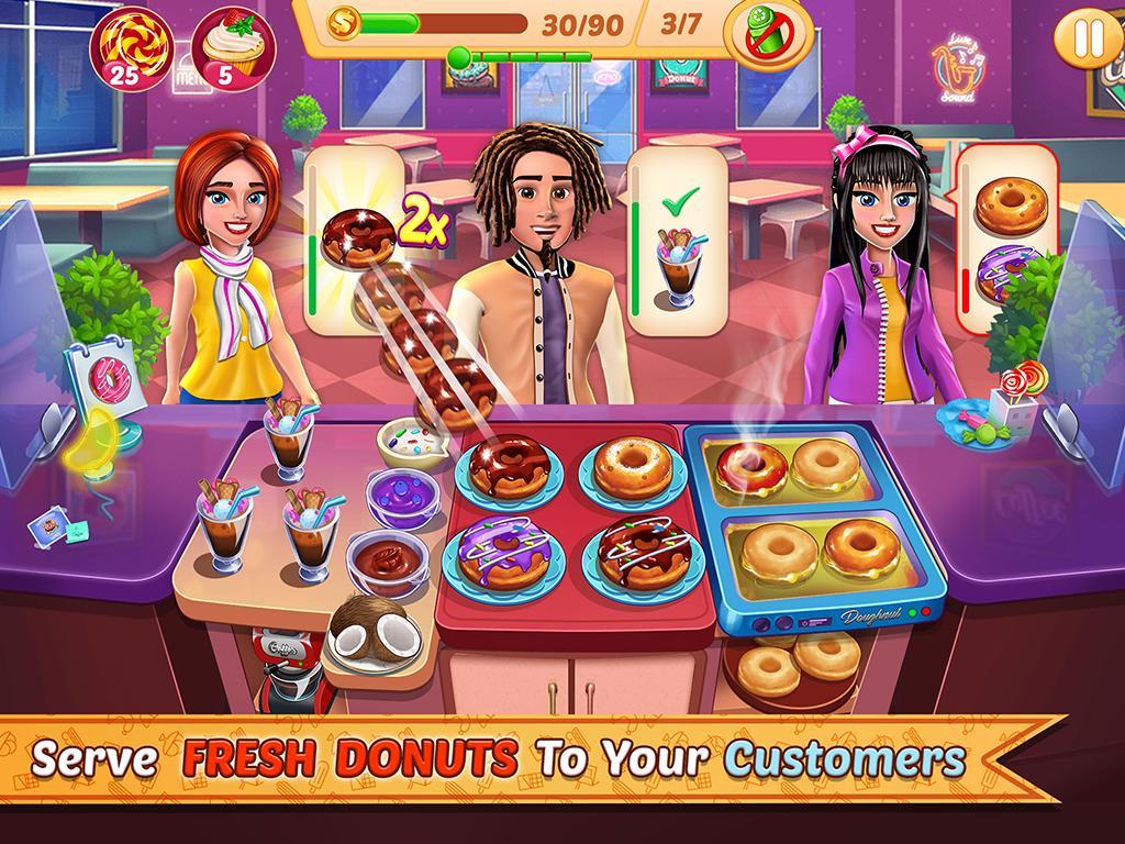 Kitchen Station Chef Cooking Restaurant Tycoon 7.9 Screenshot 1
