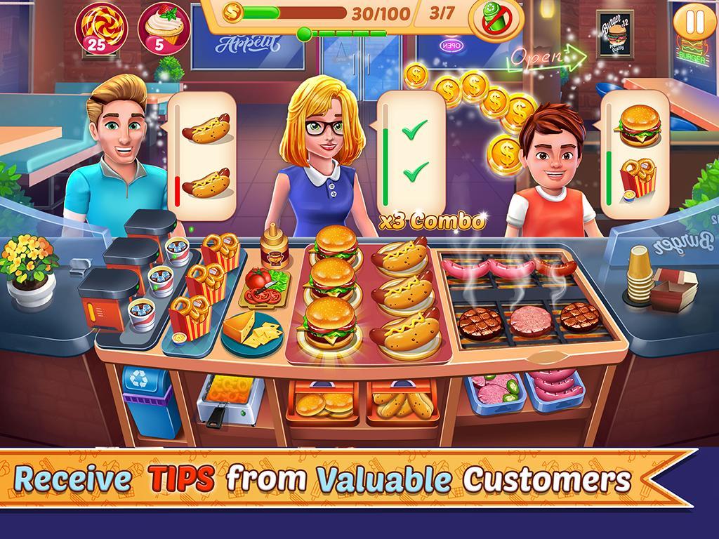 Kitchen Station Chef Cooking Restaurant Tycoon 7.9 Screenshot 2
