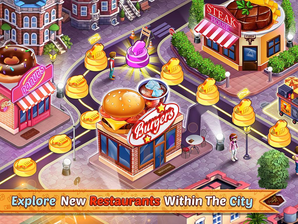 Kitchen Station Chef Cooking Restaurant Tycoon 7.9 Screenshot 5
