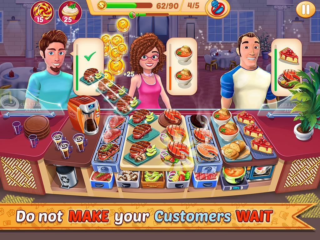 Kitchen Station Chef Cooking Restaurant Tycoon 7.9 Screenshot 6