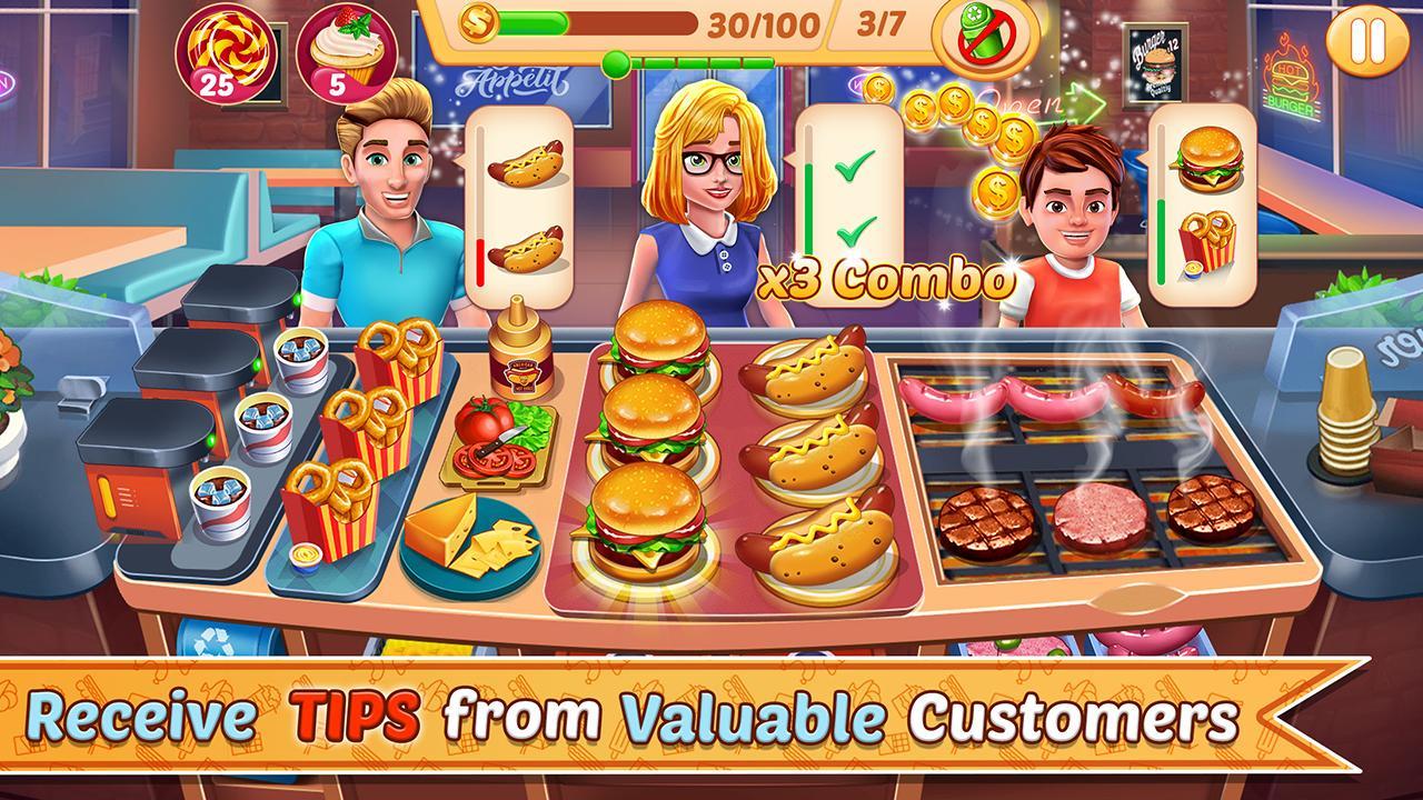 Kitchen Station Chef Cooking Restaurant Tycoon 7.9 Screenshot 9