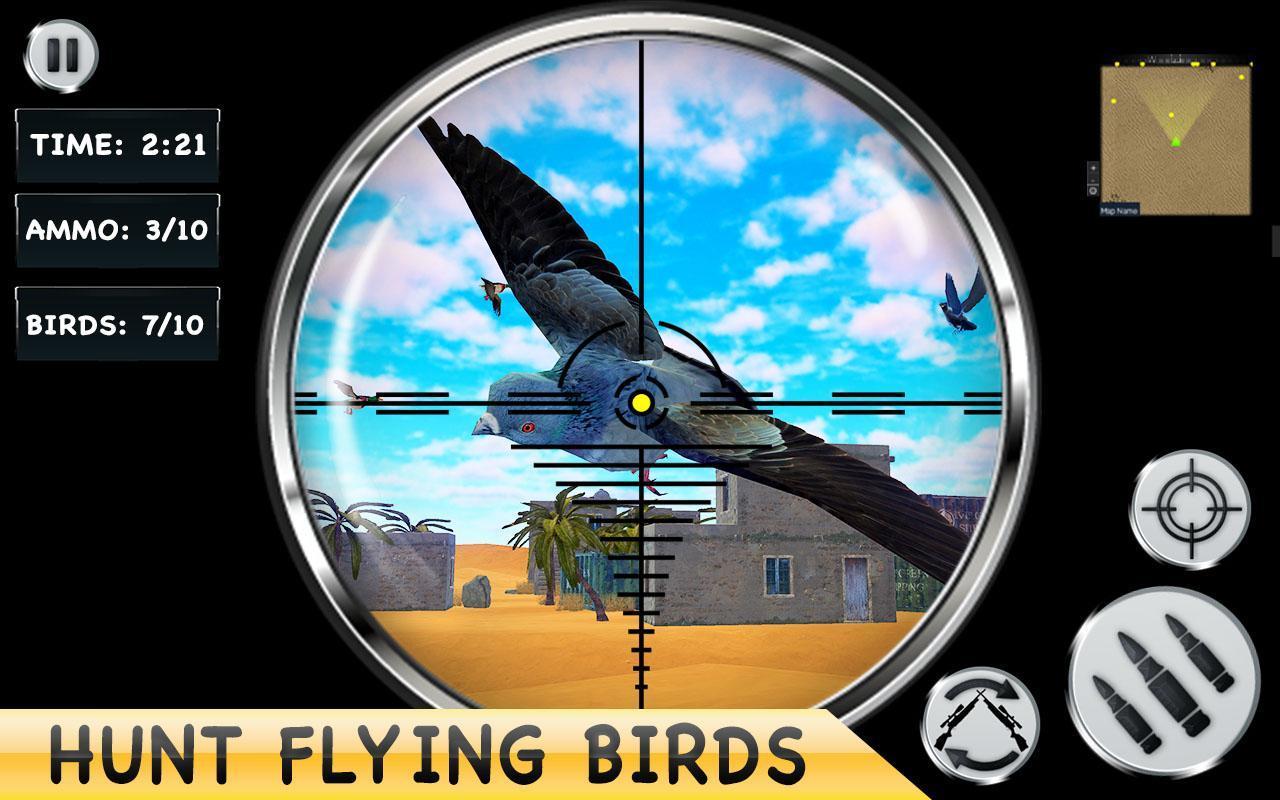 Desert Birds Sniper Shooter - Bird Hunting 2019 4.0 Screenshot 12