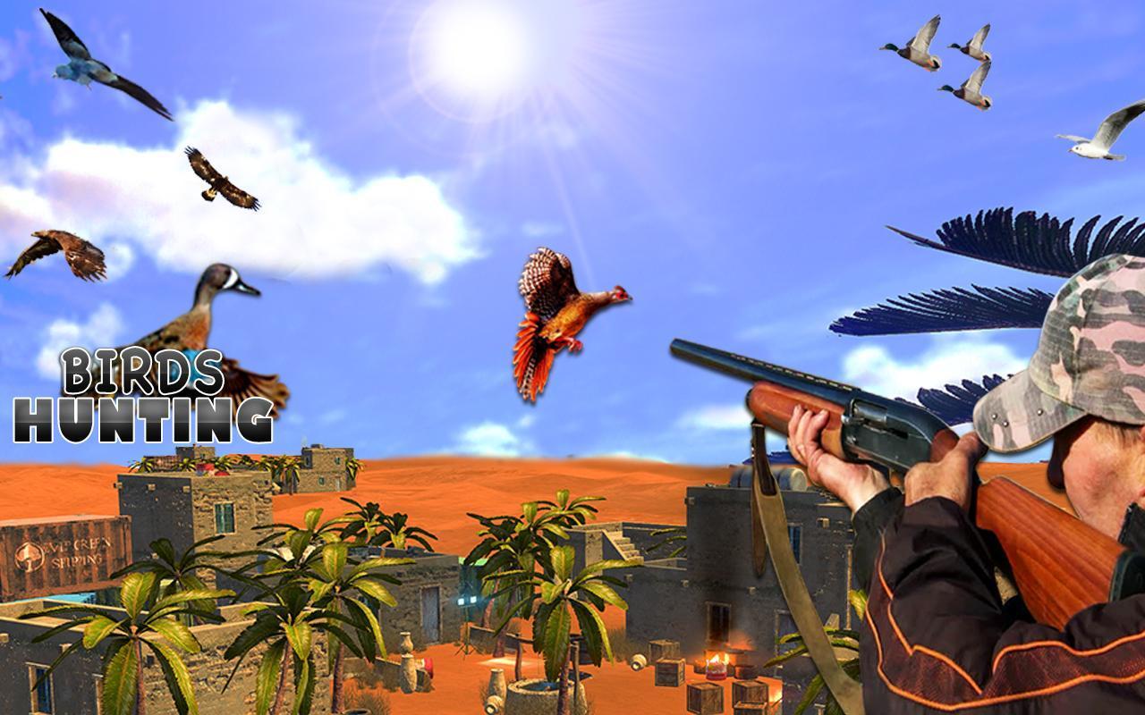 Desert Birds Sniper Shooter - Bird Hunting 2019 4.0 Screenshot 2