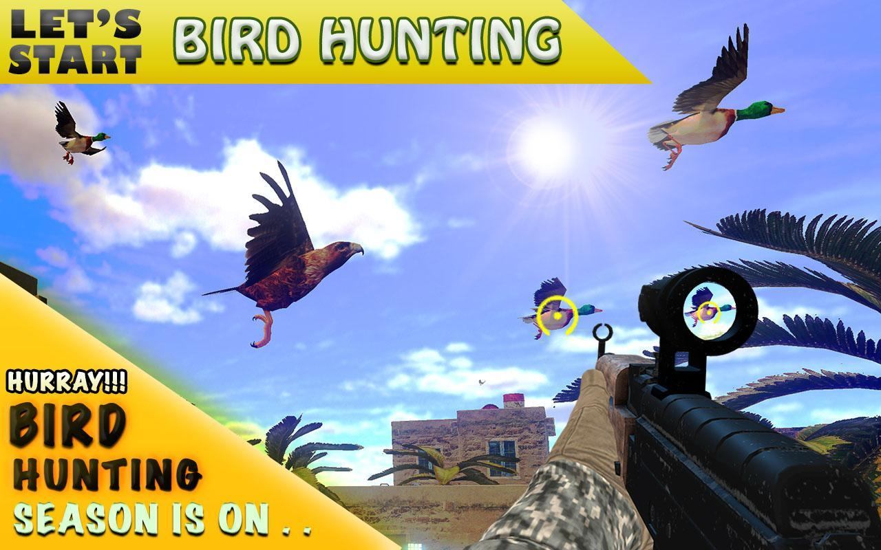 Desert Birds Sniper Shooter - Bird Hunting 2019 4.0 Screenshot 3