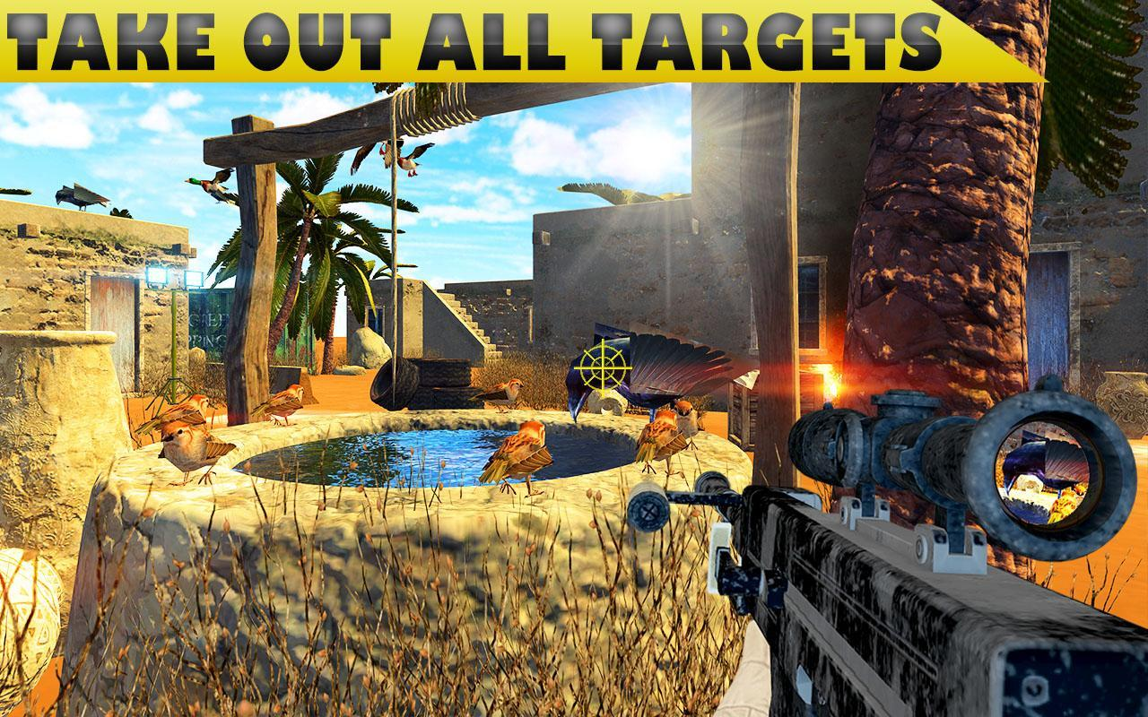 Desert Birds Sniper Shooter - Bird Hunting 2019 4.0 Screenshot 4