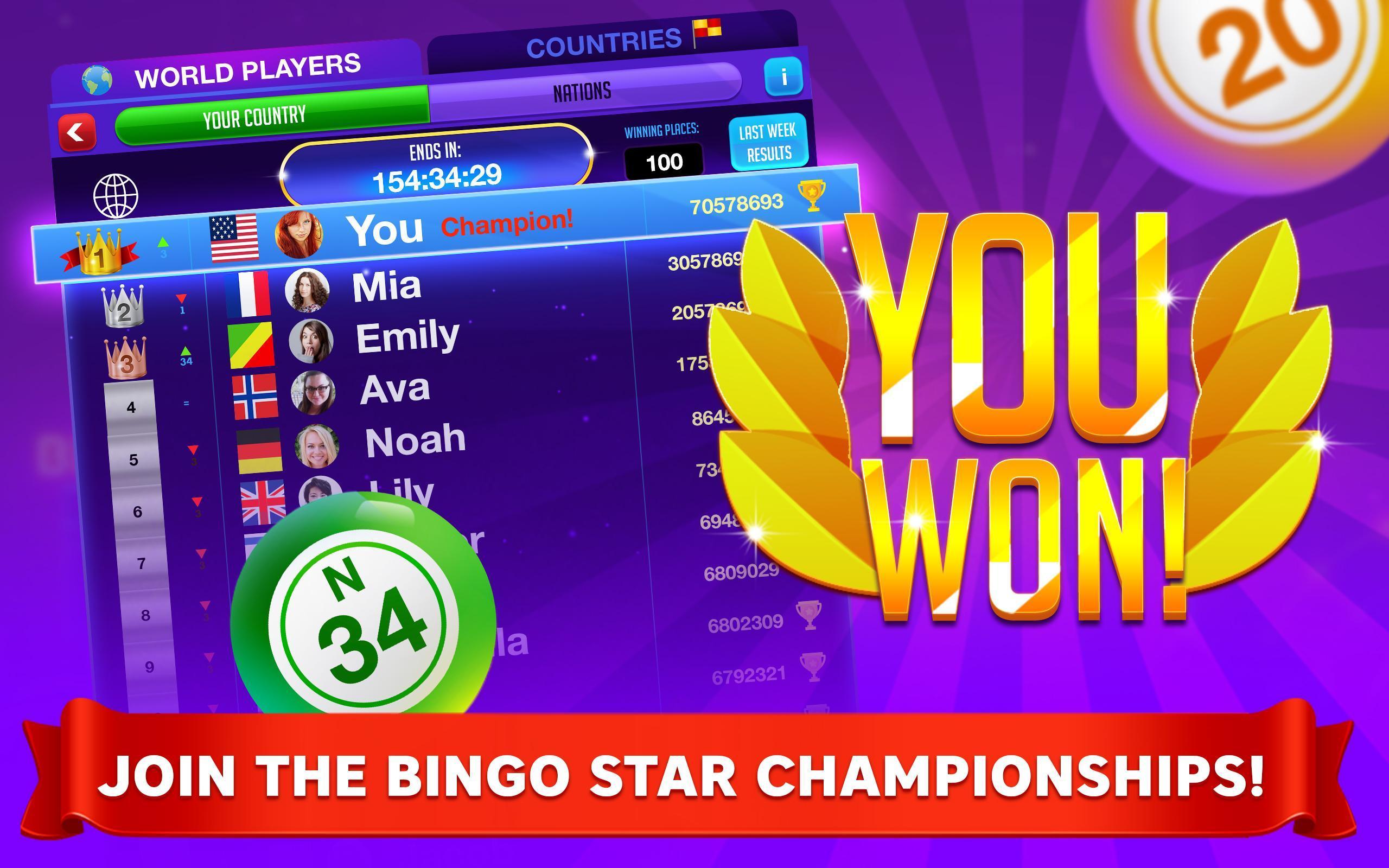 Bingo Star Bingo Games 1.1.347 Screenshot 17