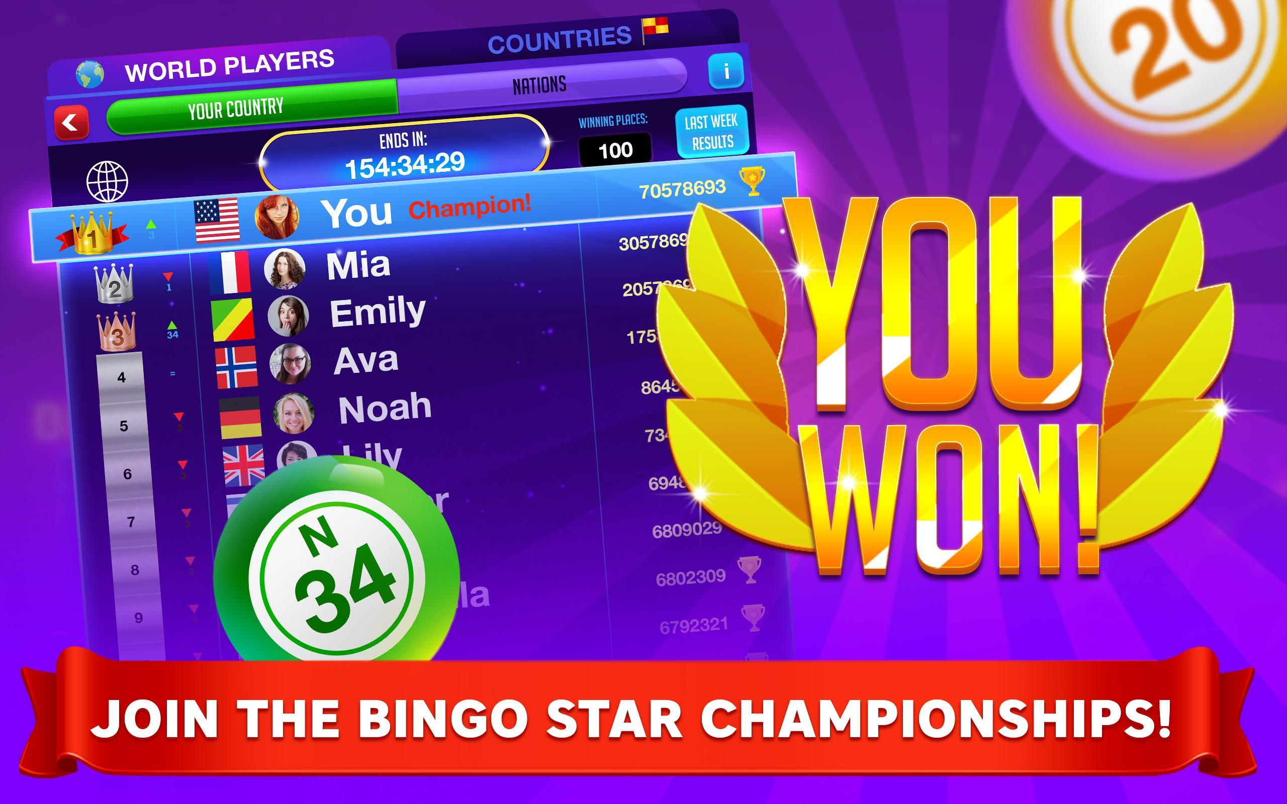 Bingo Star Bingo Games 1.1.347 Screenshot 5
