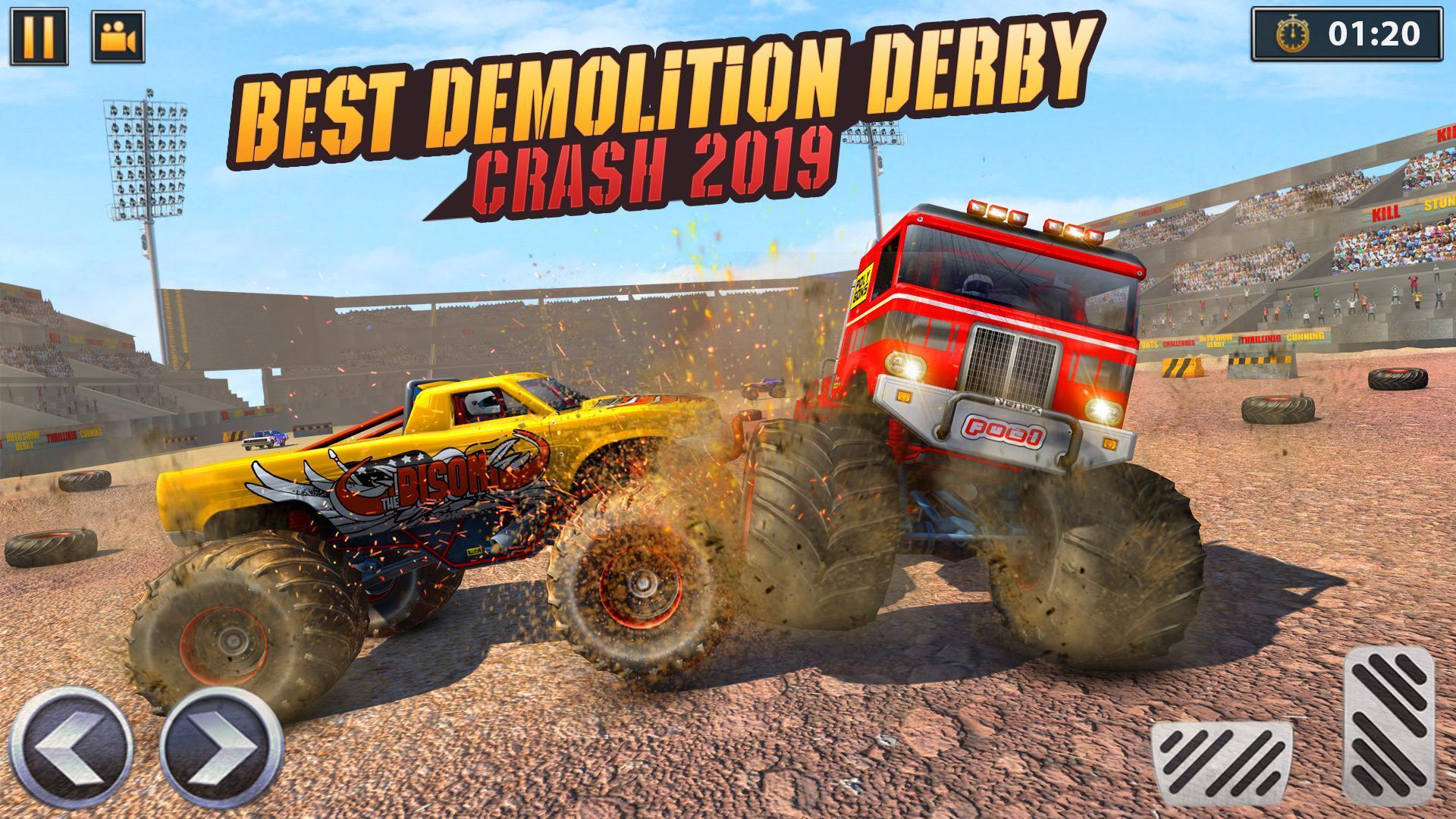 Real Monster Truck Demolition Derby Crash Stunts 3.0.3 Screenshot 12