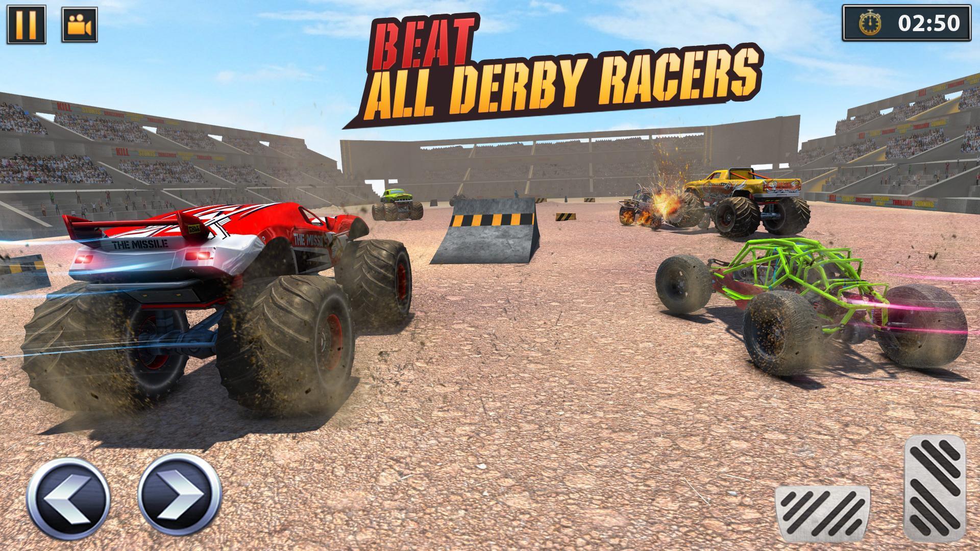 Real Monster Truck Demolition Derby Crash Stunts 3.0.3 Screenshot 13
