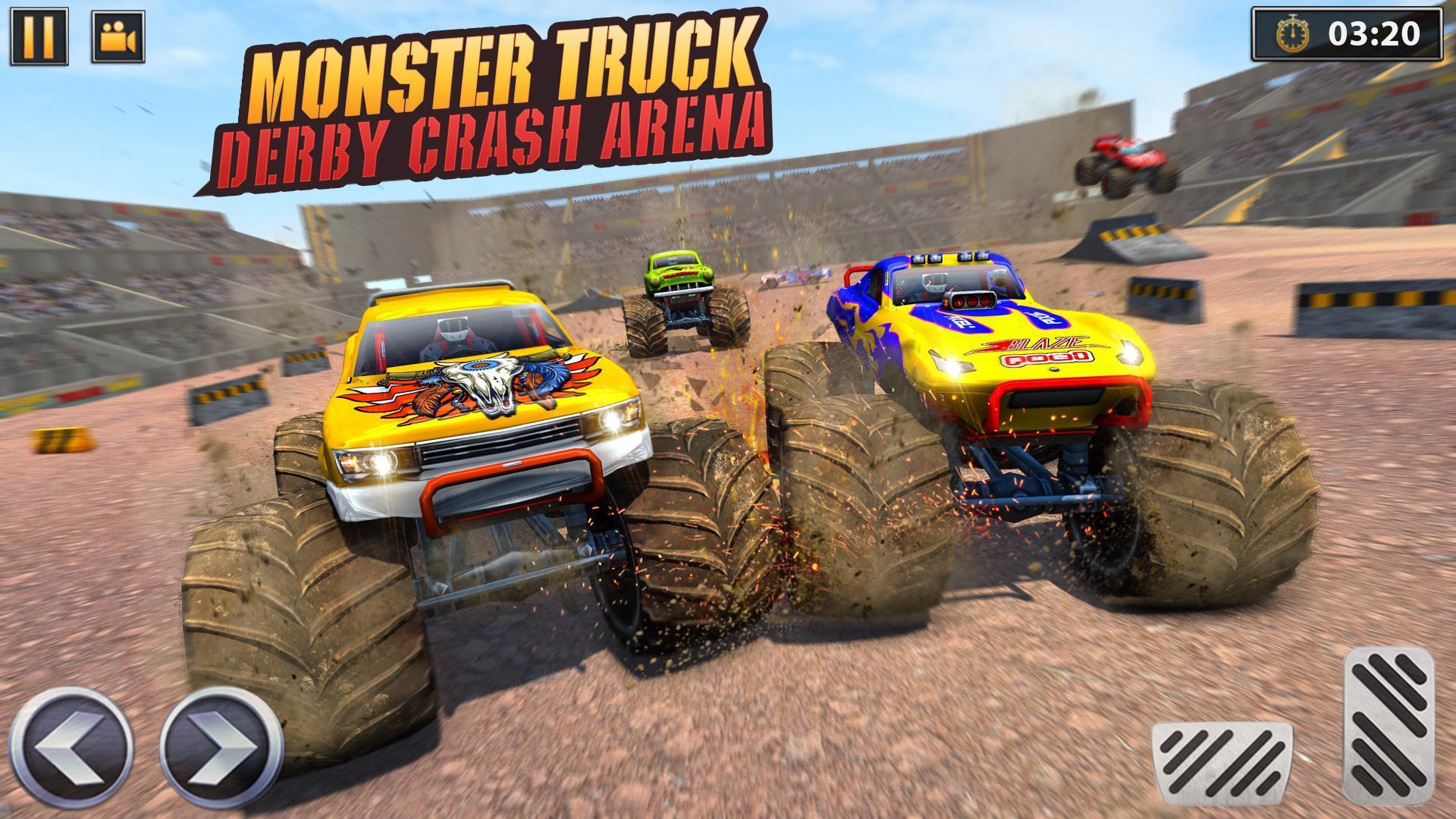 Real Monster Truck Demolition Derby Crash Stunts 3.0.3 Screenshot 8