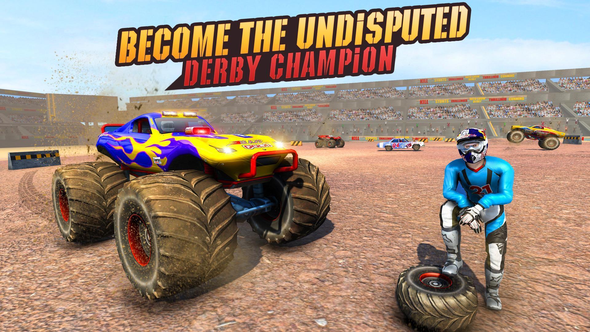 Real Monster Truck Demolition Derby Crash Stunts 3.0.3 Screenshot 9