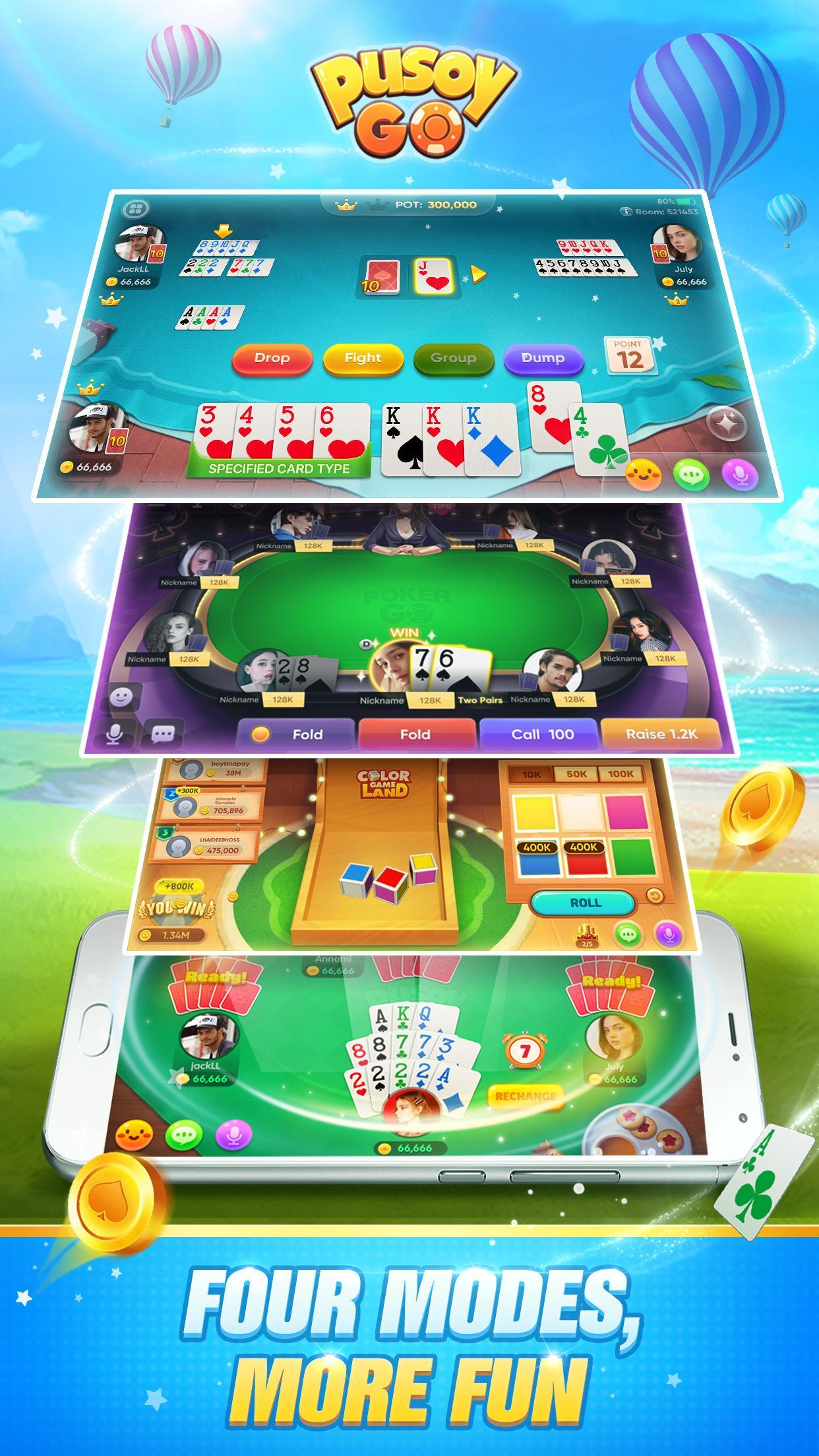Pusoy Go Free Online Chinese Poker(13 Cards game) 2.9.24 Screenshot 1
