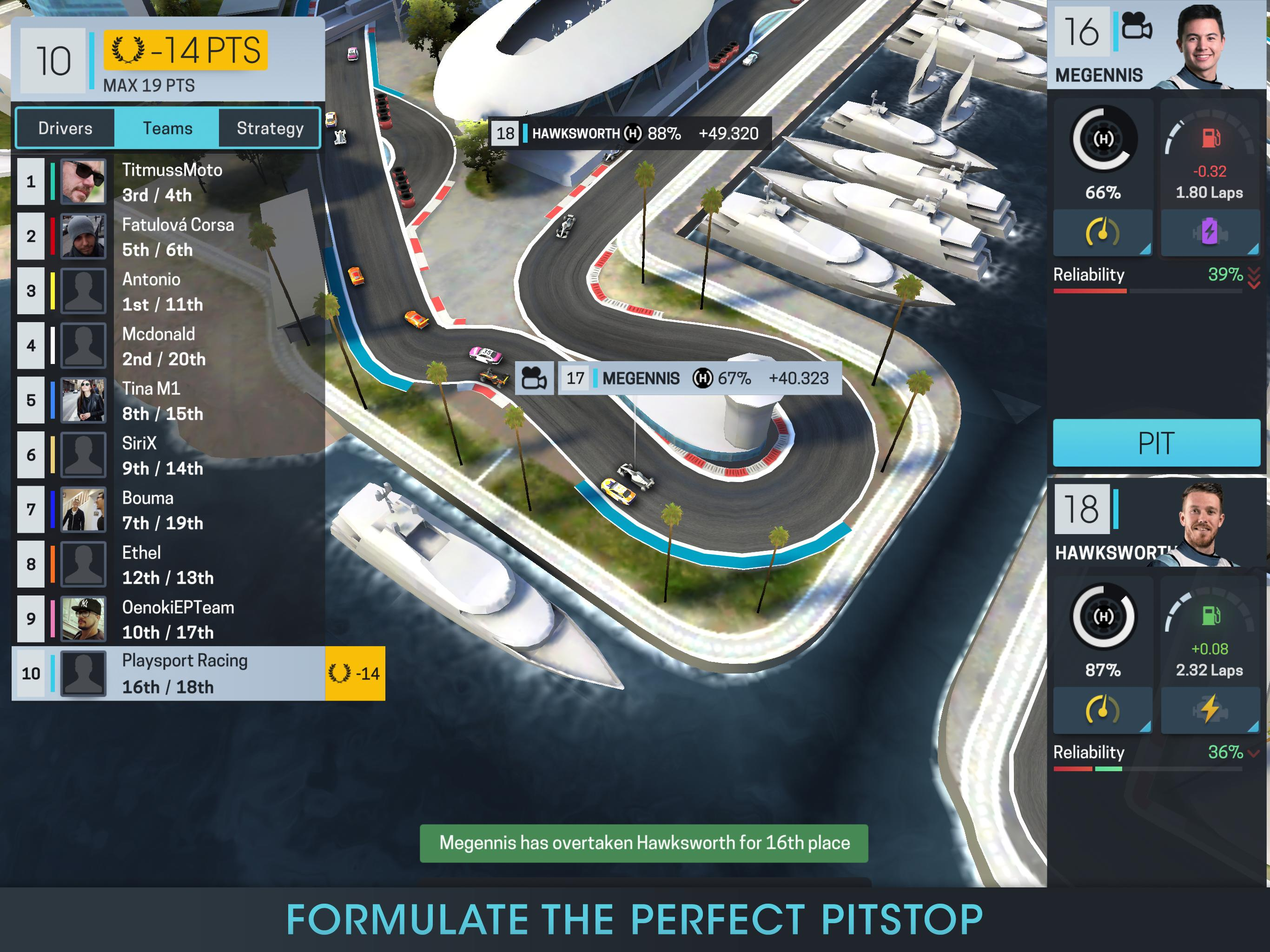 Motorsport Manager Online 1.03 Screenshot 15
