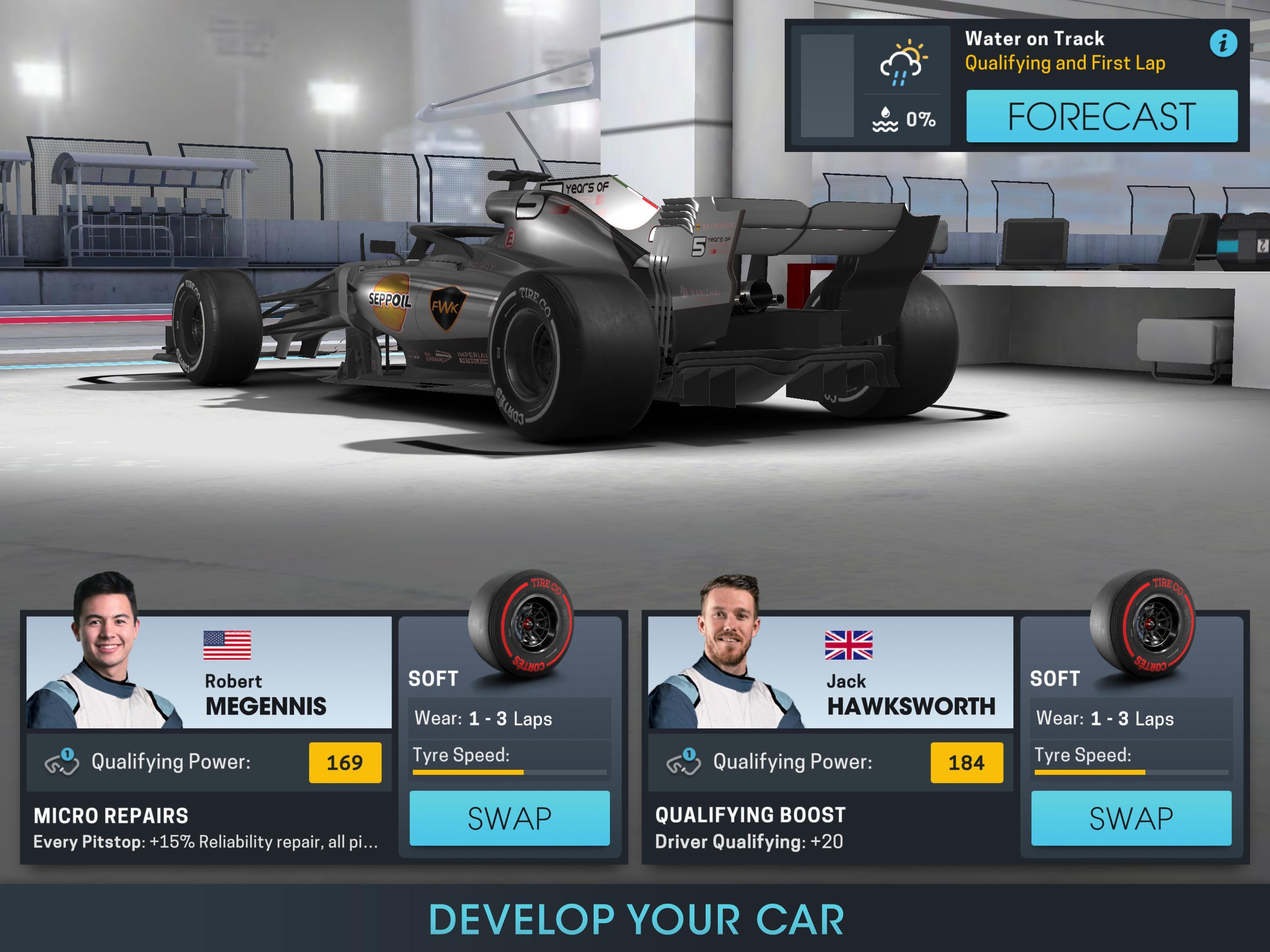 Motorsport Manager Online 1.03 Screenshot 19