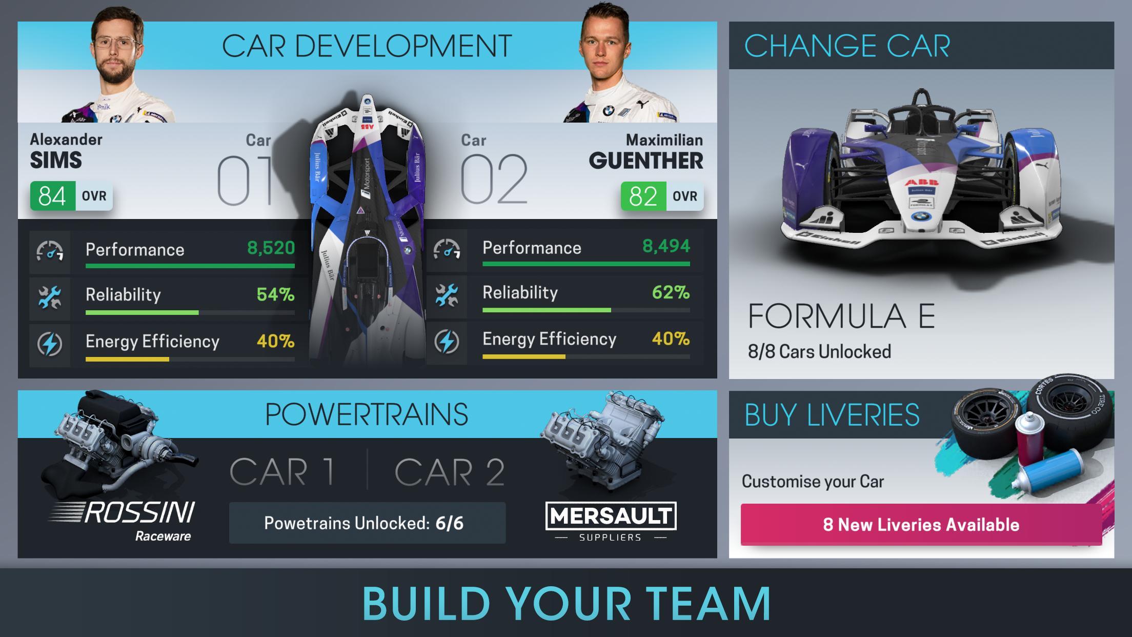 Motorsport Manager Online 1.03 Screenshot 2
