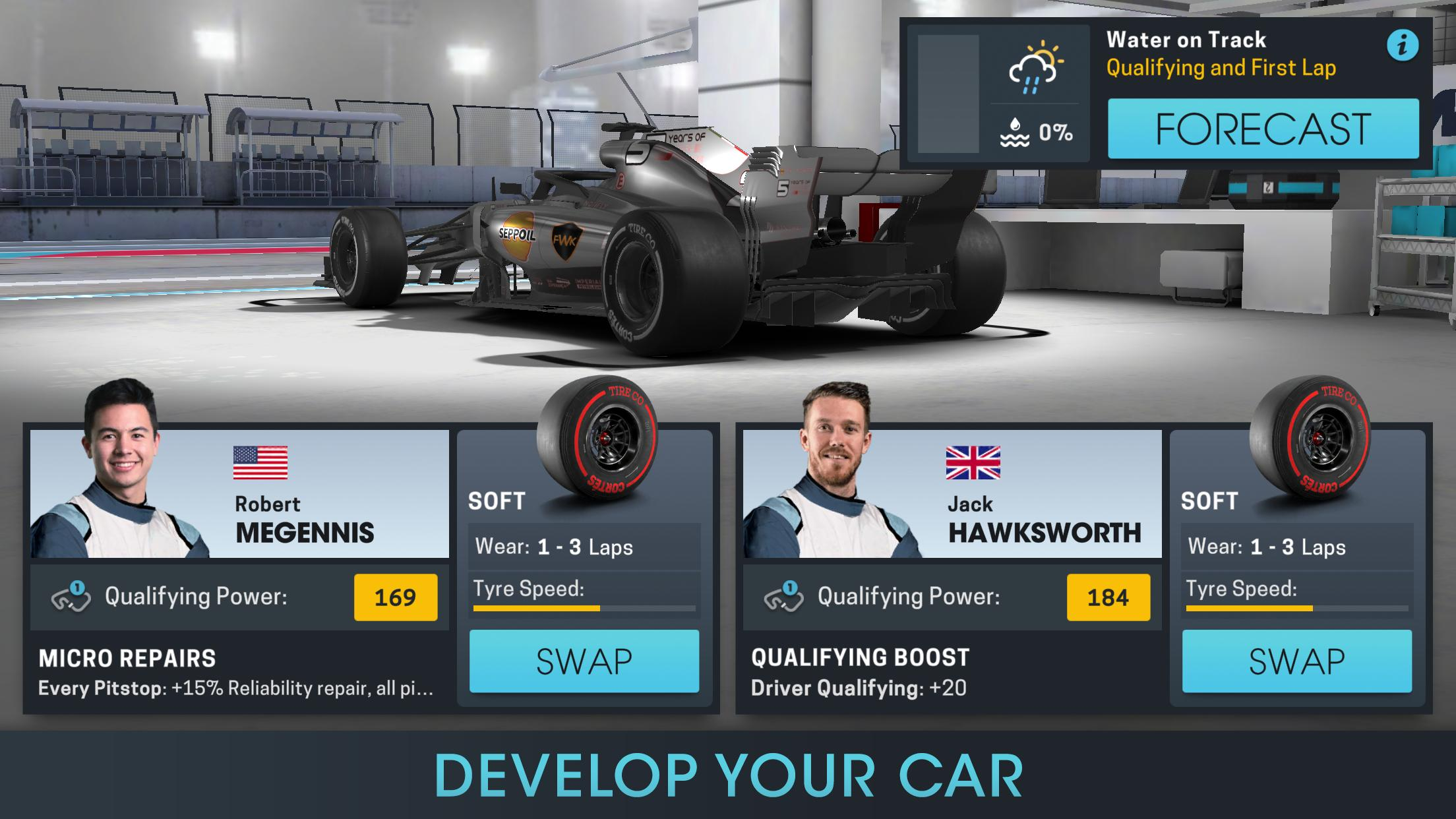 Motorsport Manager Online 1.03 Screenshot 3