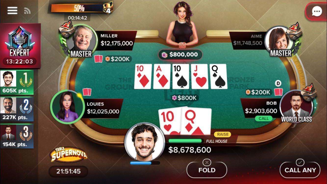 Poker Heat™ - Free Texas Holdem Poker Games 4.41.11 Screenshot 6