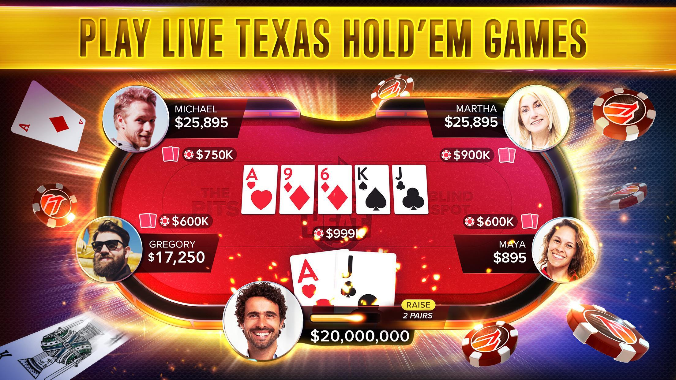 Poker Heat™ - Free Texas Holdem Poker Games 4.41.11 Screenshot 8