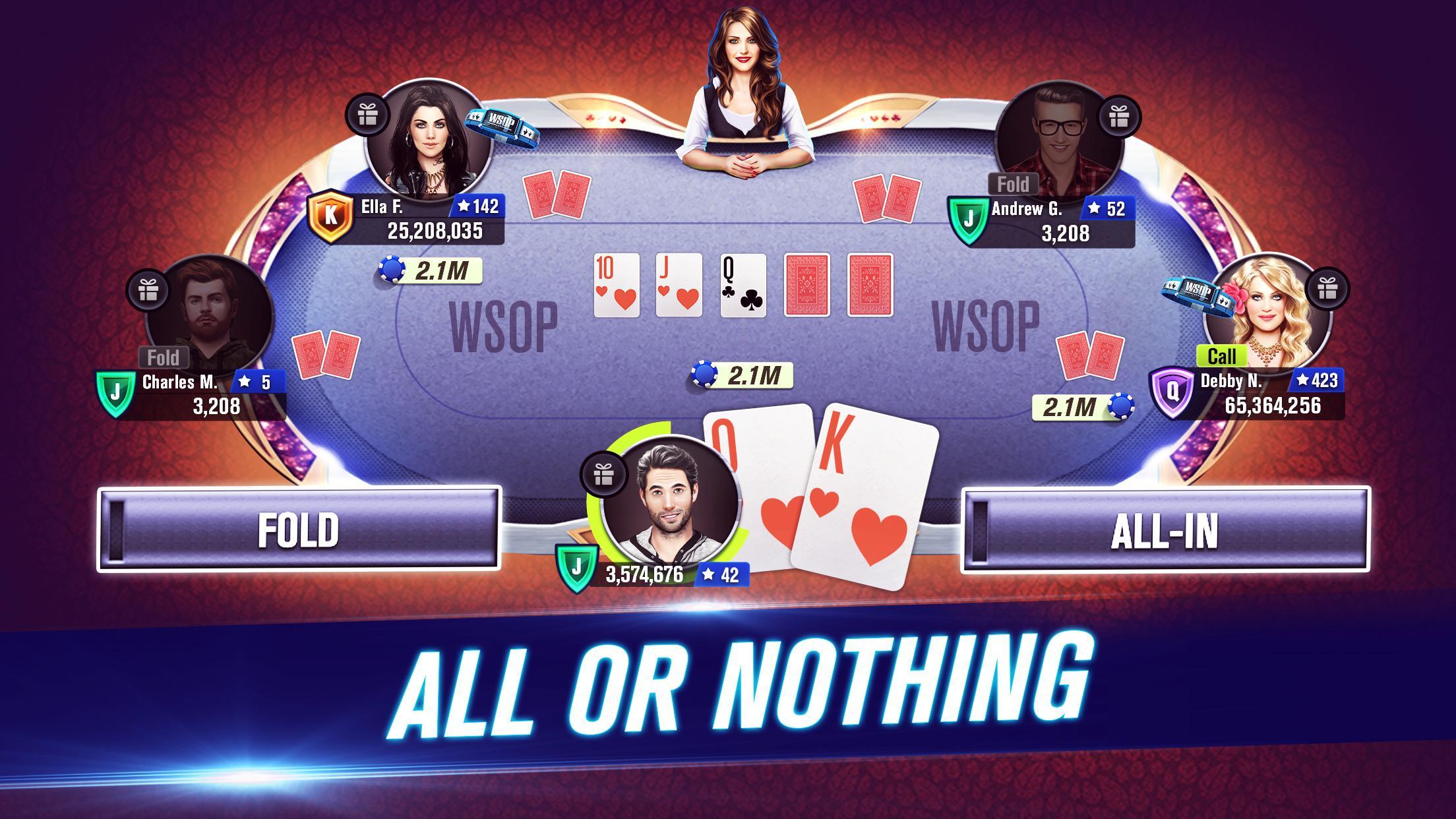 World Series of Poker – WSOP Free Texas Holdem 7.17.0 Screenshot 2