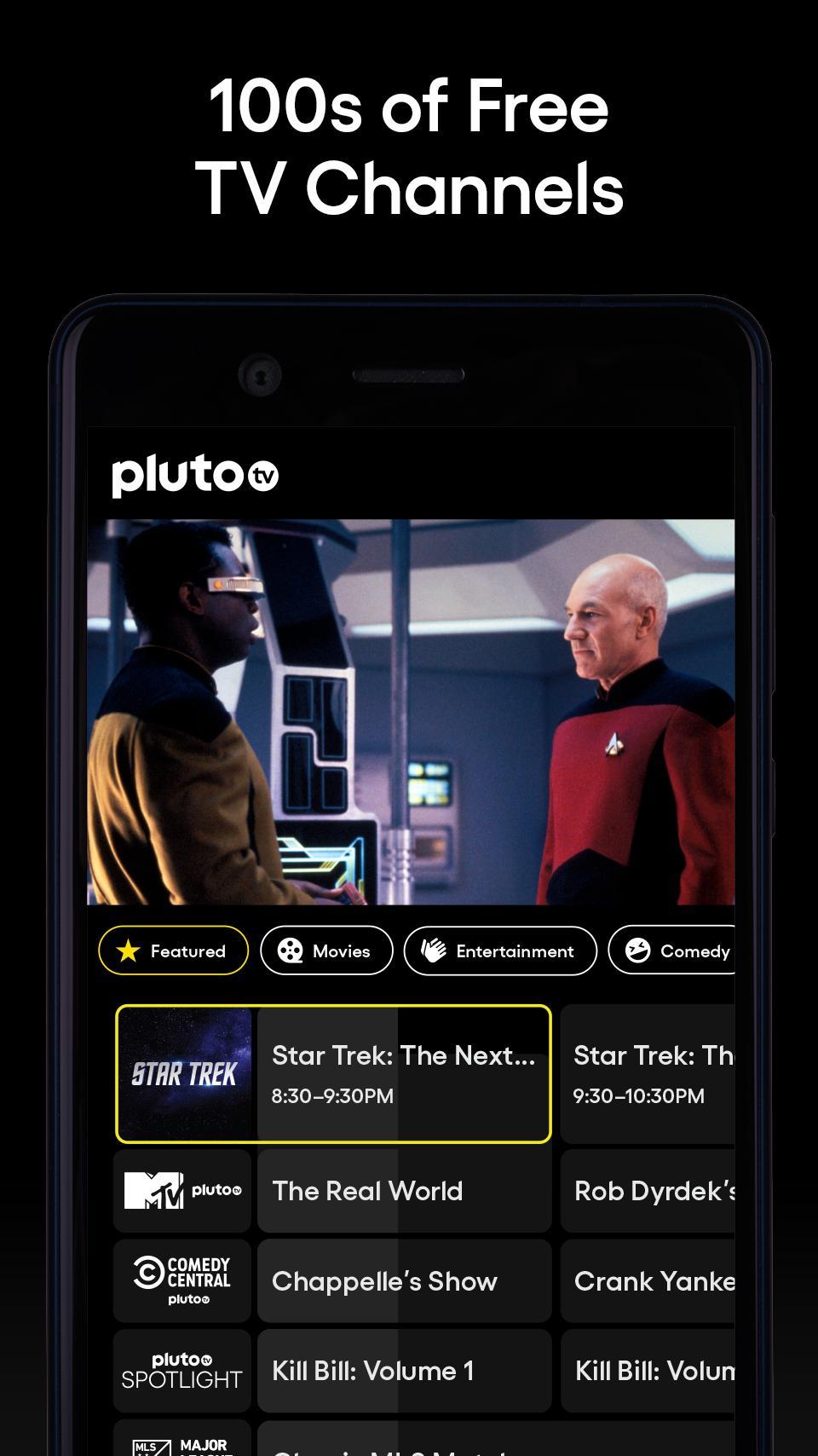 Pluto TV It's Free TV 5.3.0 Screenshot 1