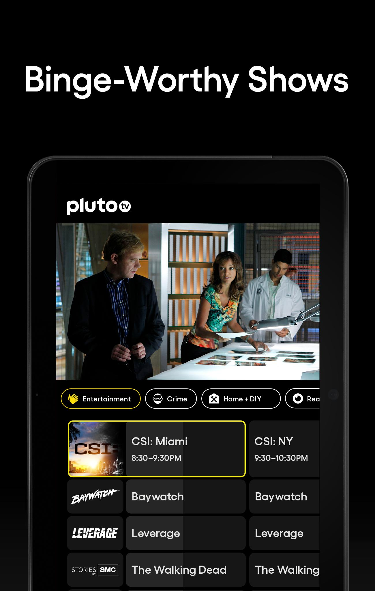 Pluto TV It's Free TV 5.3.0 Screenshot 10