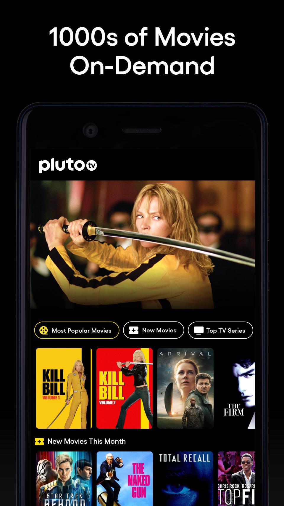 Pluto TV It's Free TV 5.3.0 Screenshot 2
