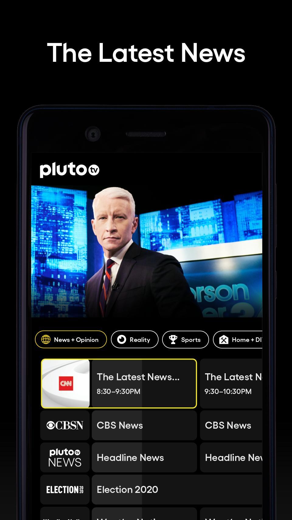 Pluto TV It's Free TV 5.3.0 Screenshot 3