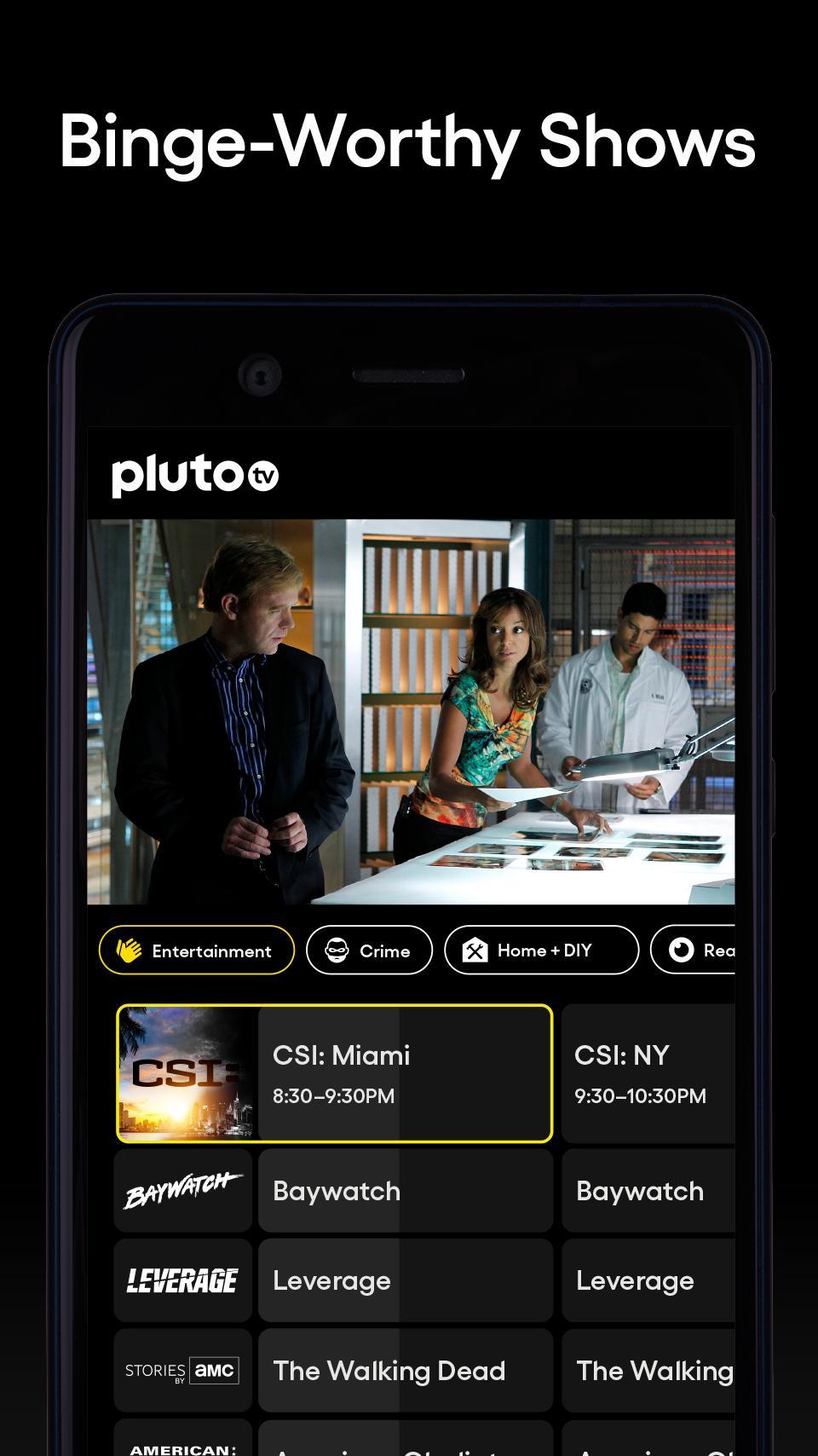 Pluto TV It's Free TV 5.3.0 Screenshot 4