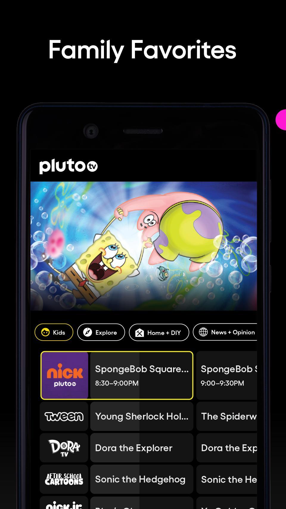 Pluto TV It's Free TV 5.3.0 Screenshot 5