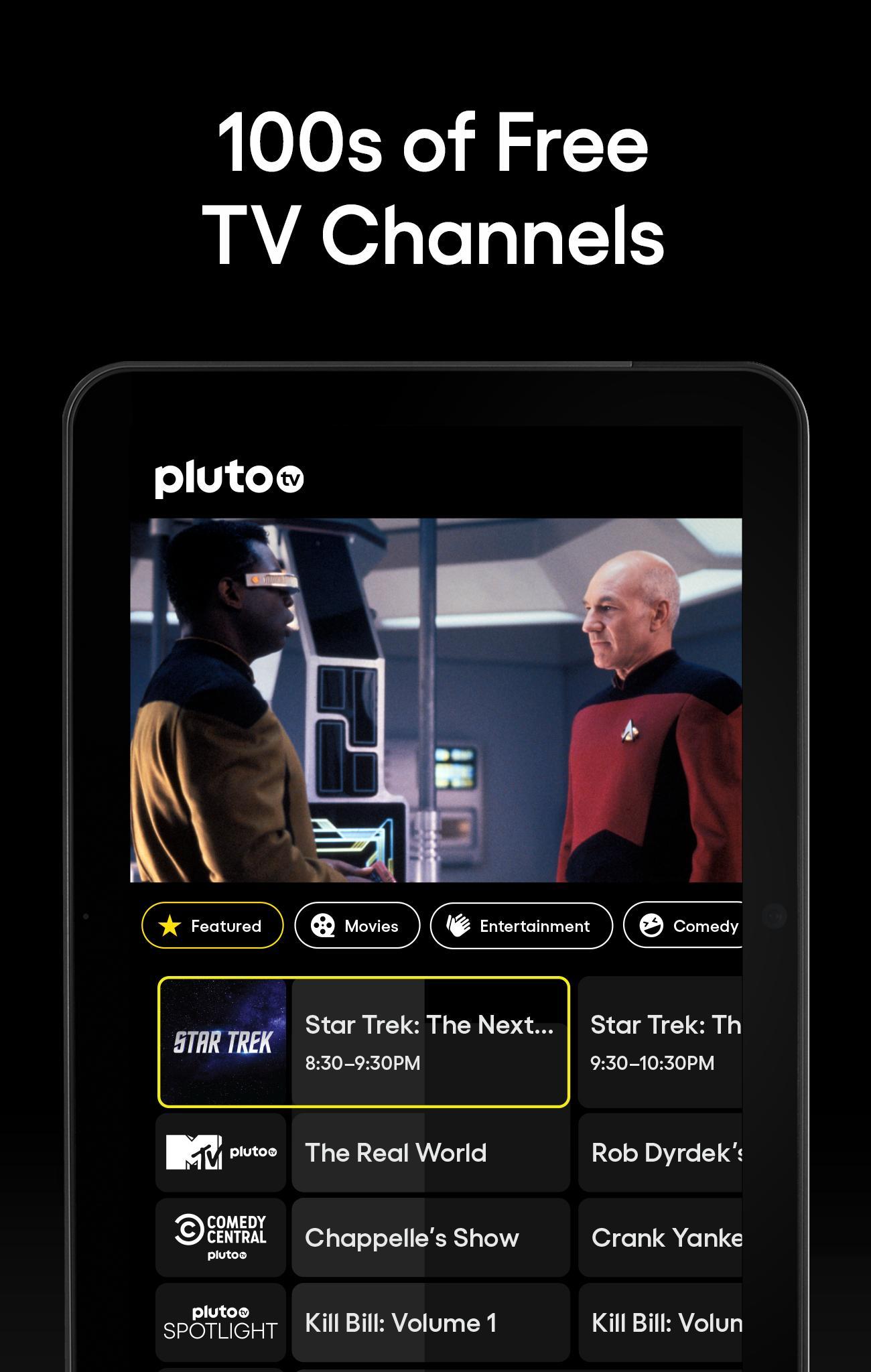 Pluto TV It's Free TV 5.3.0 Screenshot 7